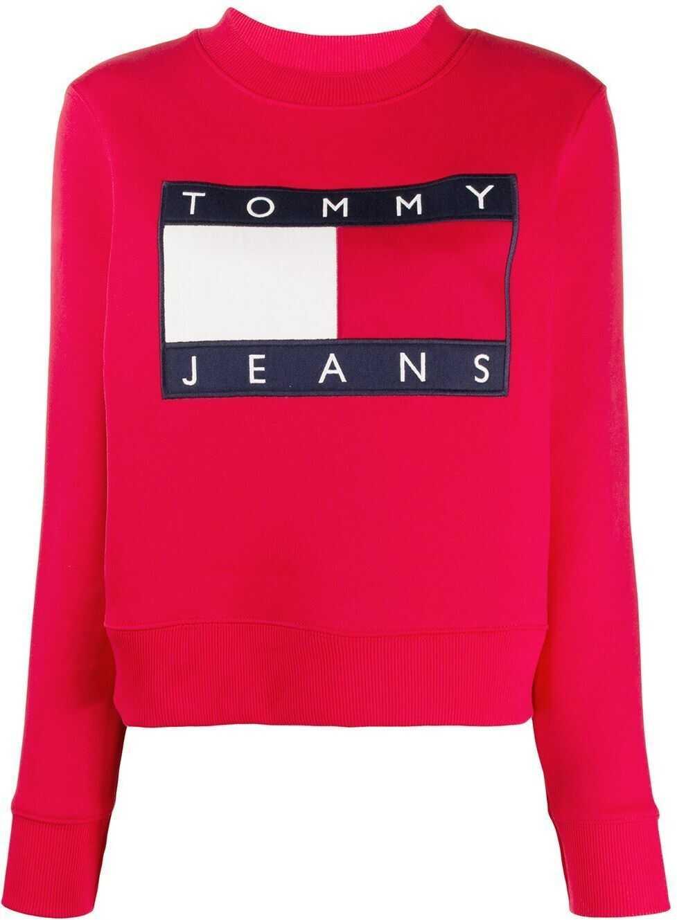 Tommy Hilfiger Cotton Sweatshirt RED