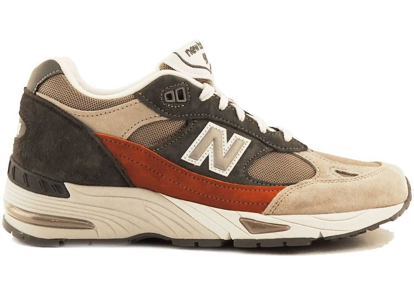 New Balance Leather Sneakers MULTICOLOR