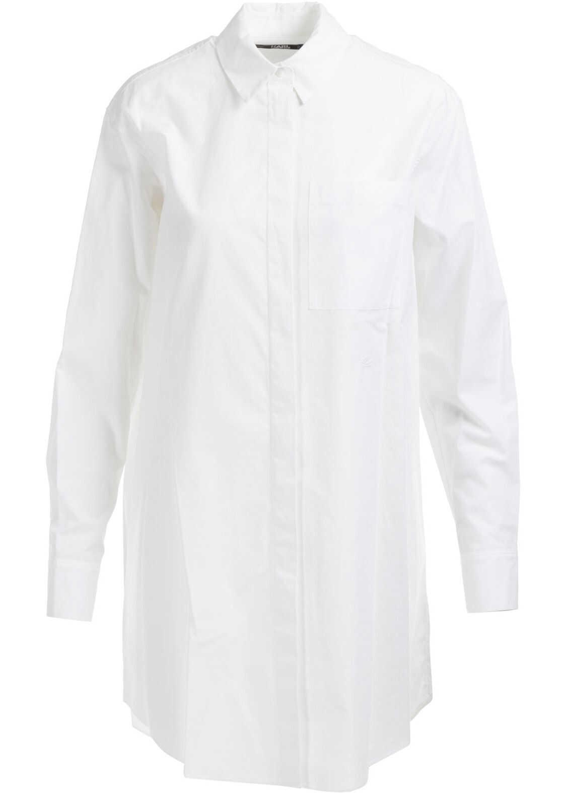 Karl Lagerfeld Long Sleeve White