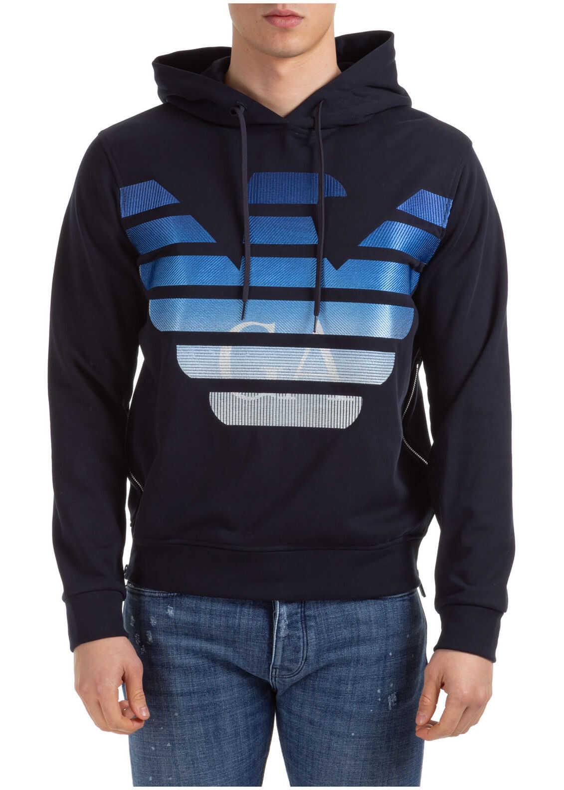 Emporio Armani Sweatshirt Sweat Blue