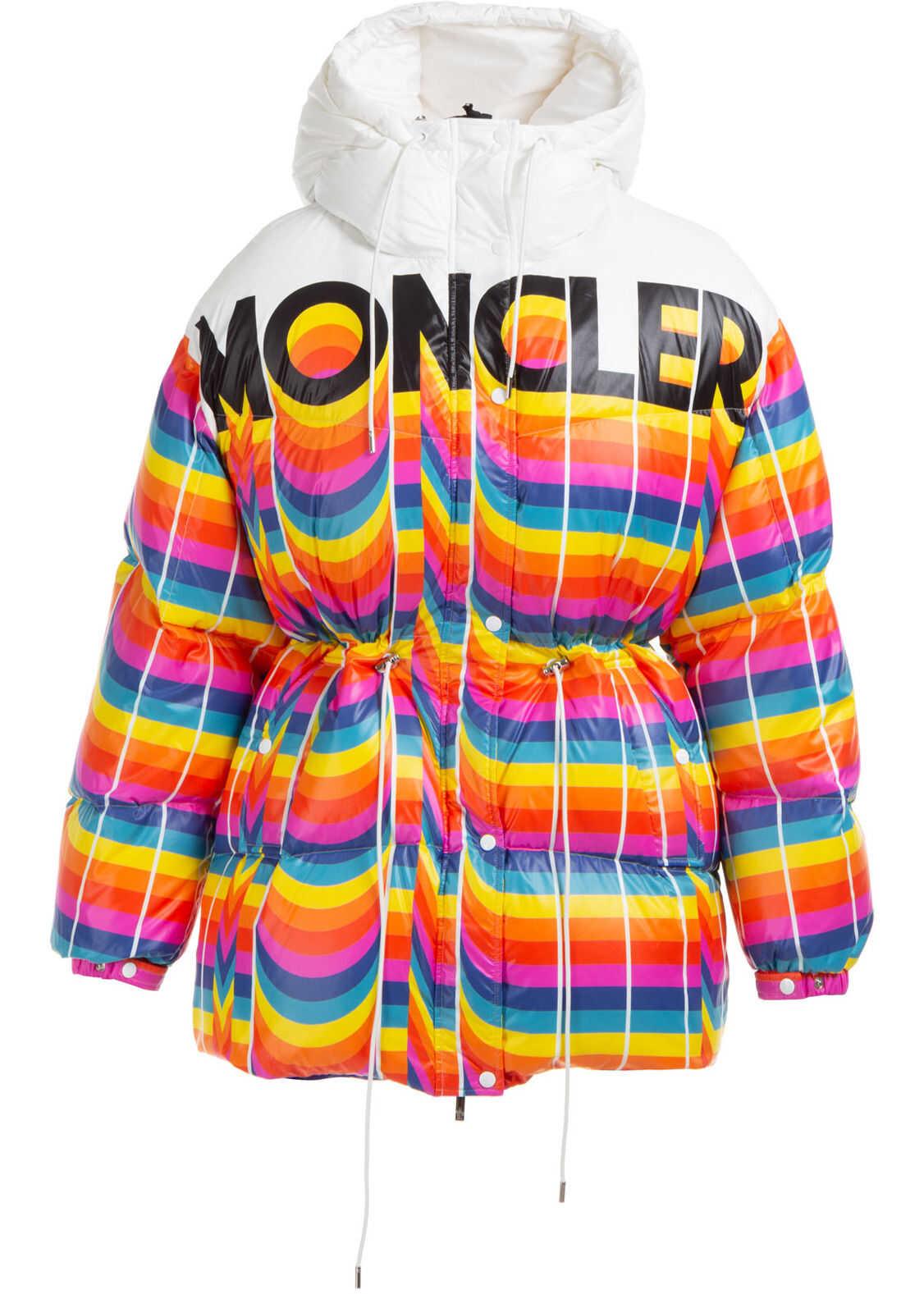 Moncler Genius Blouson Hood White