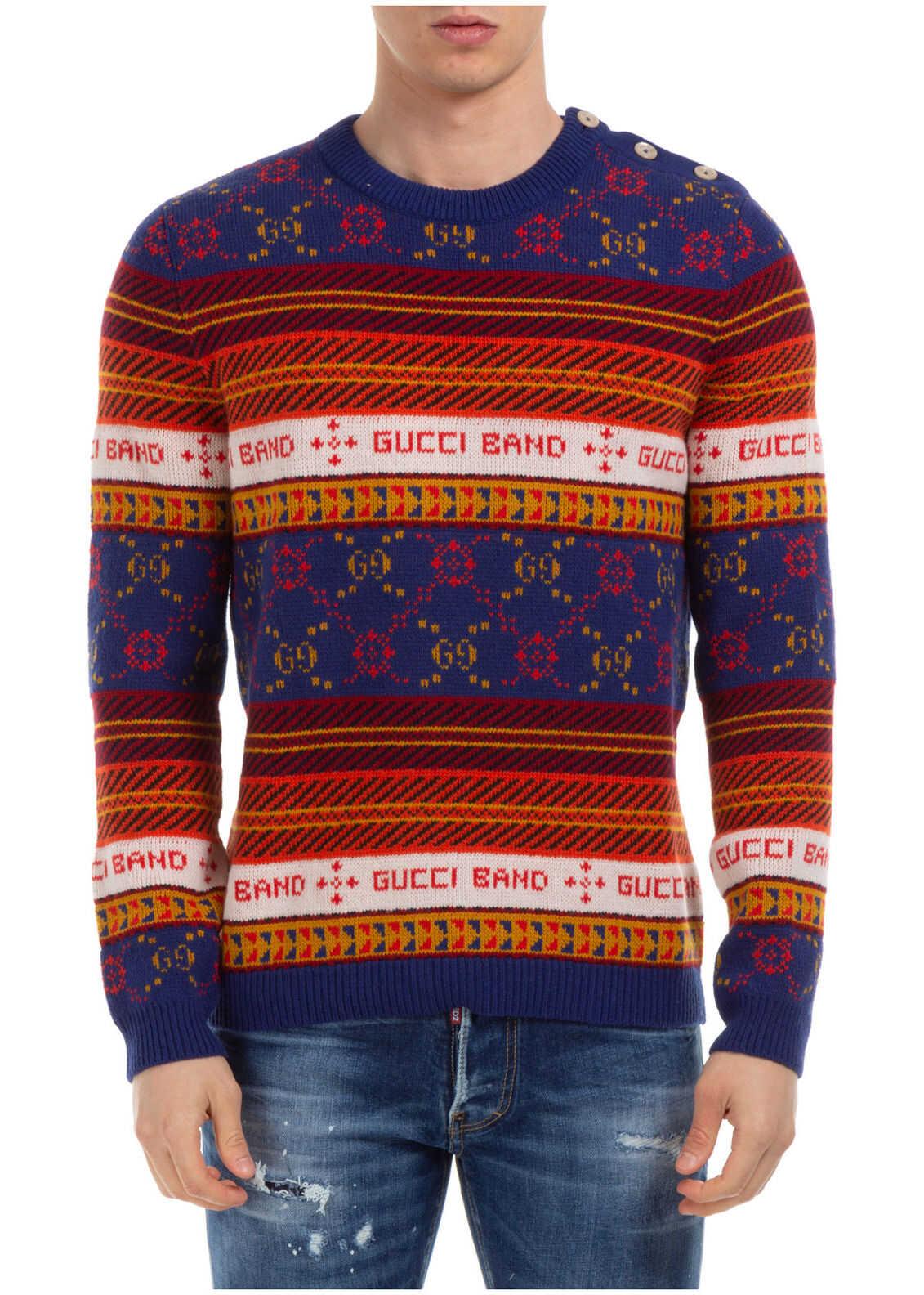 Gucci Sweater Pullover Blue