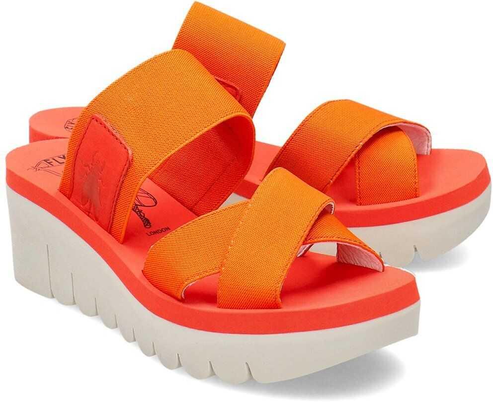 FLY London Yabo Pomarańczowy