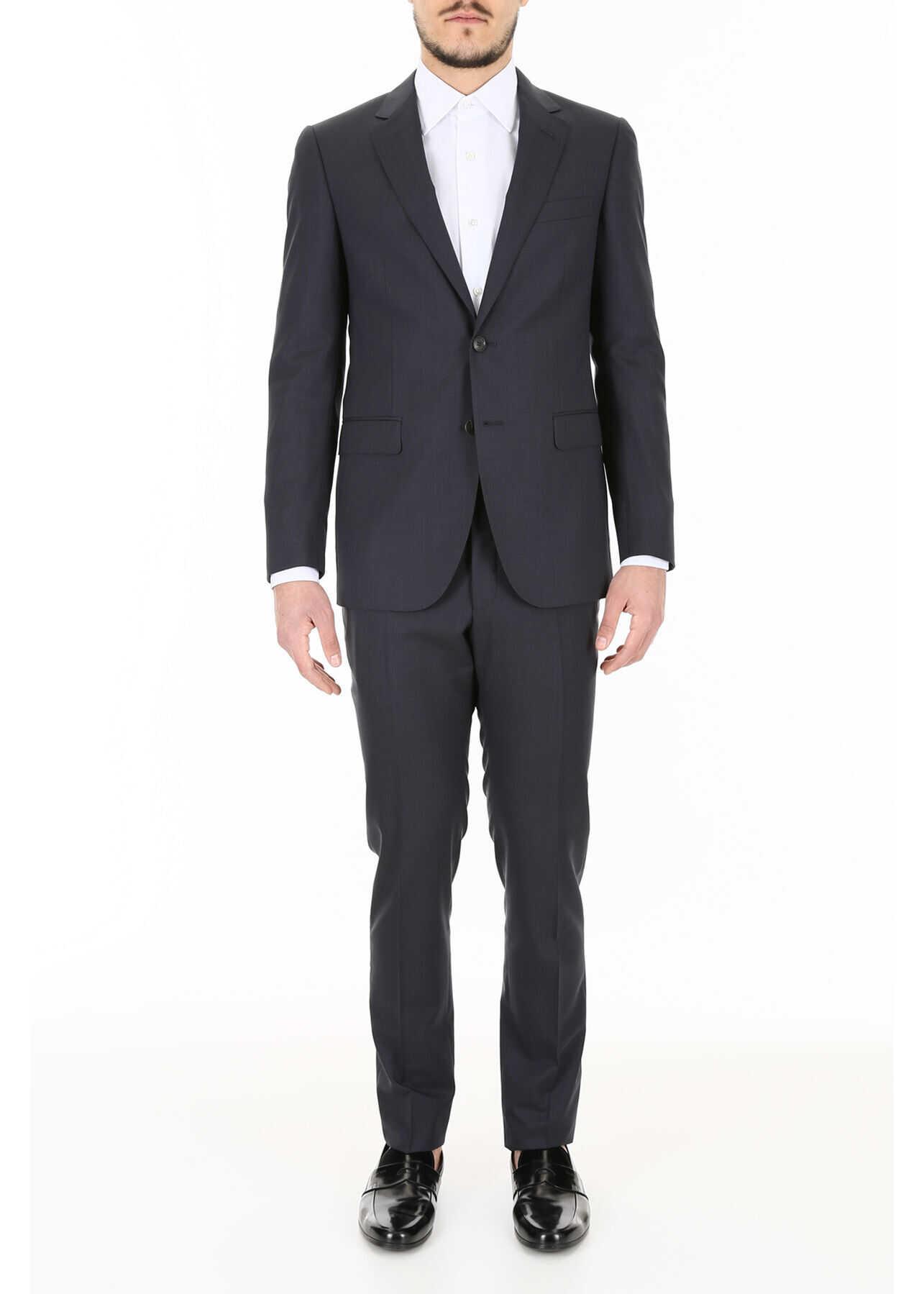 Lanvin Two-Piece Suit BLUISH GREY imagine