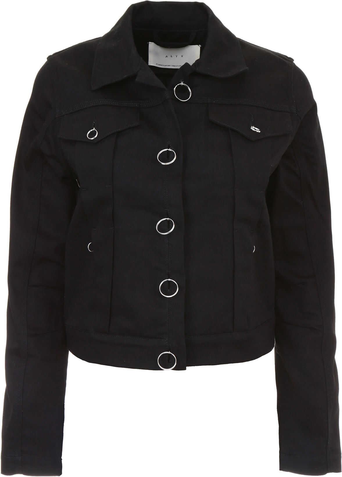 Alyx 1017 9Sm Denim Jacket BLACK