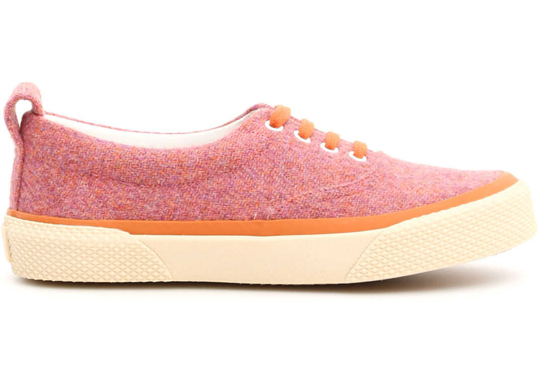 Céline Tweed 180° Sneakers PINK