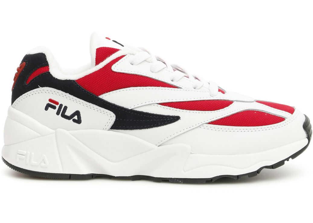 Fila Low Venom Heritage Sneakers WHITE NAVY RED