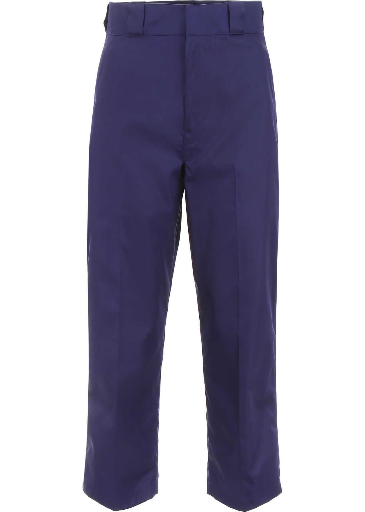 Prada Nylon Trousers INCHIOSTRO