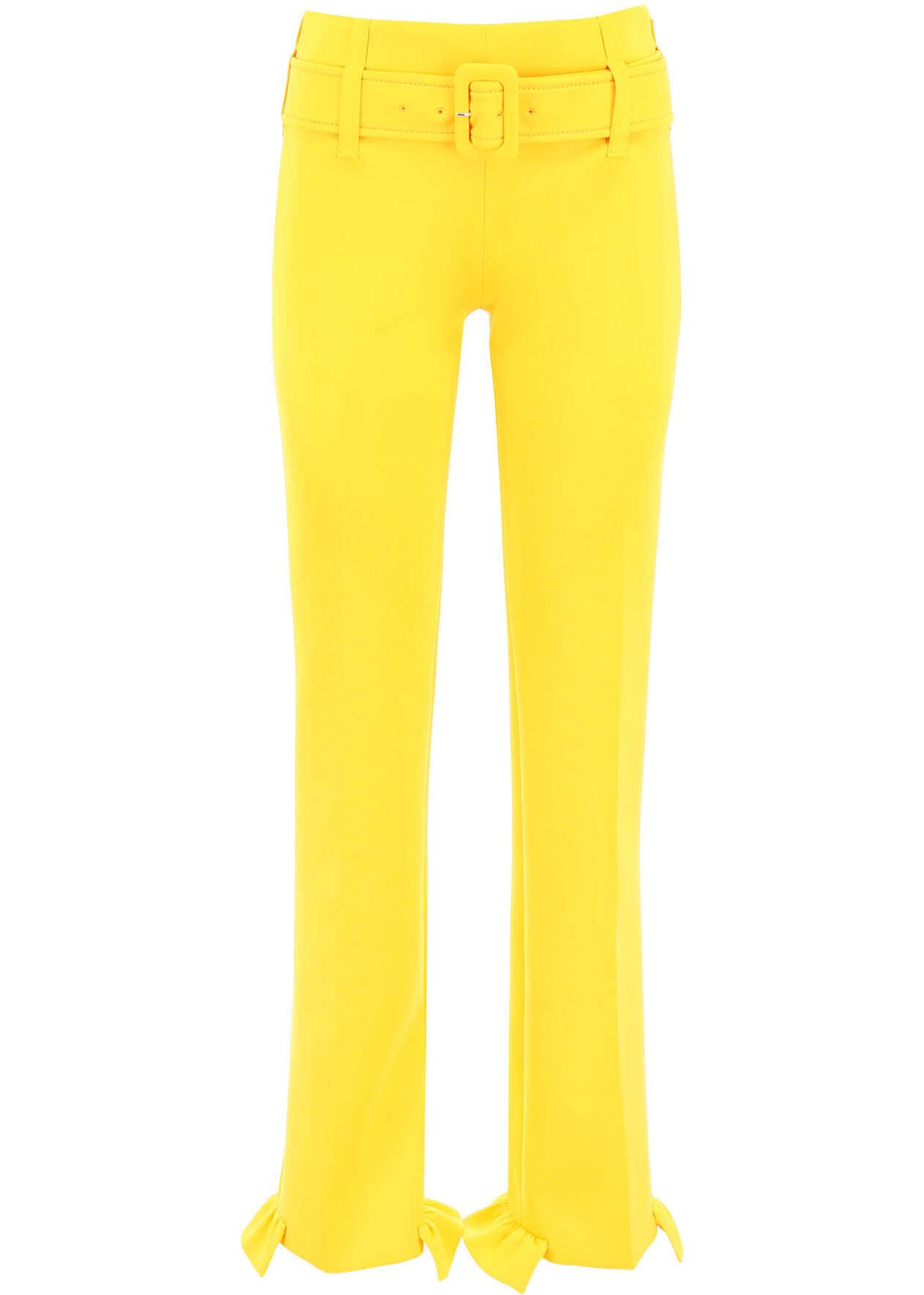 Prada Formal Trousers GIALLO GIALLO