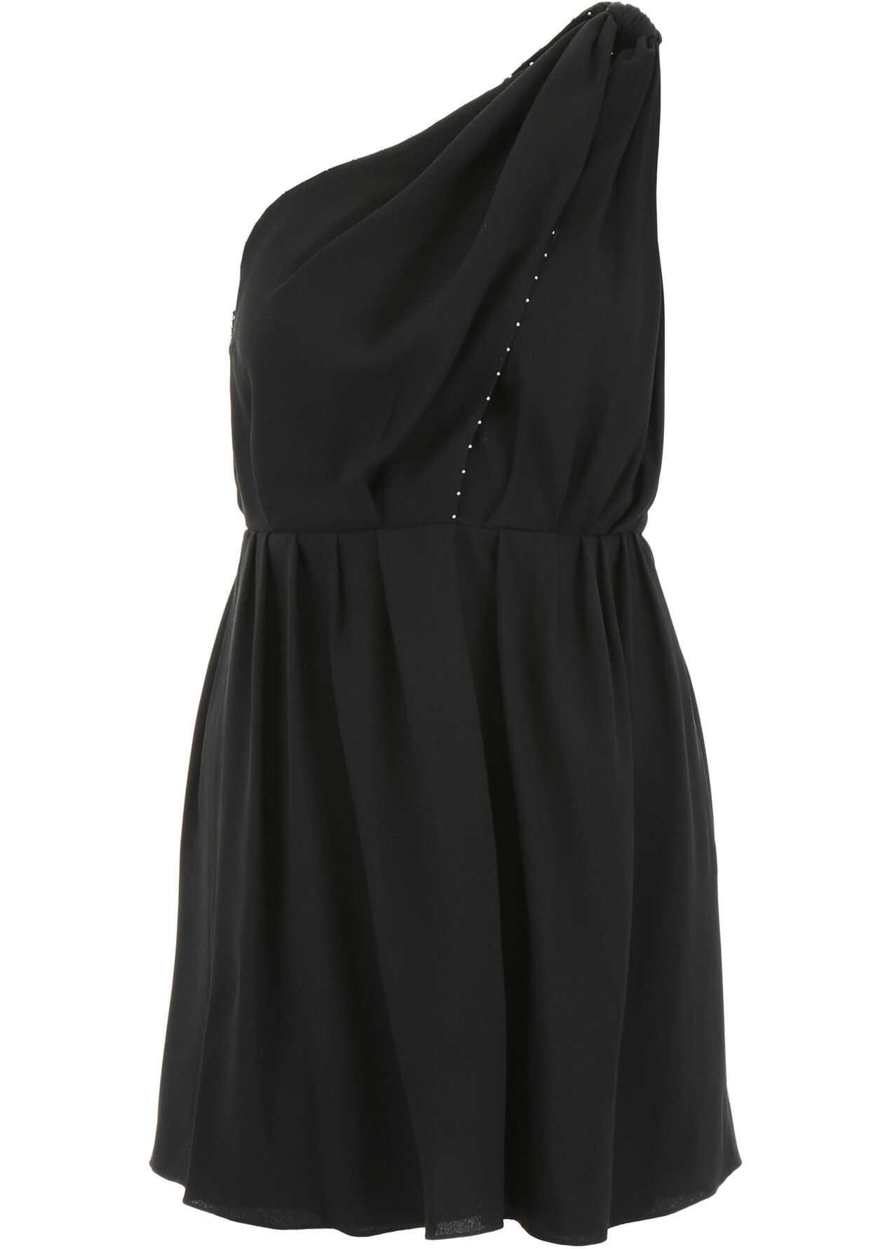 Saint Laurent Dress With Micro Studs NOIR