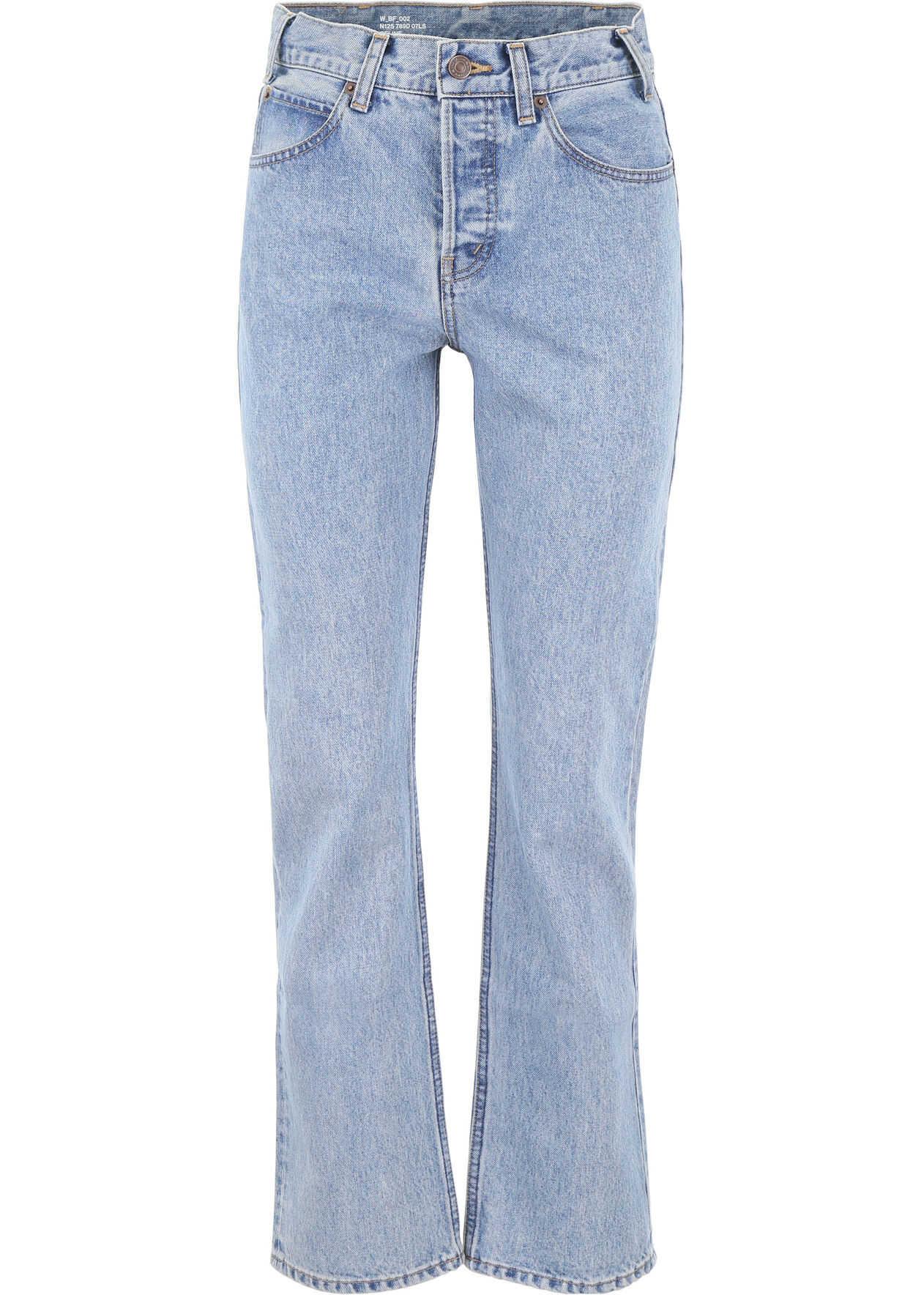 Céline Straight-Leg Jeans INDIGO LIGHT STONE