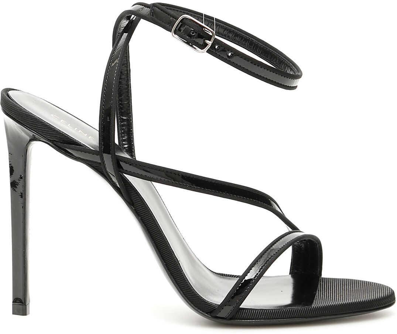 Céline Sharp Sandals BLACK
