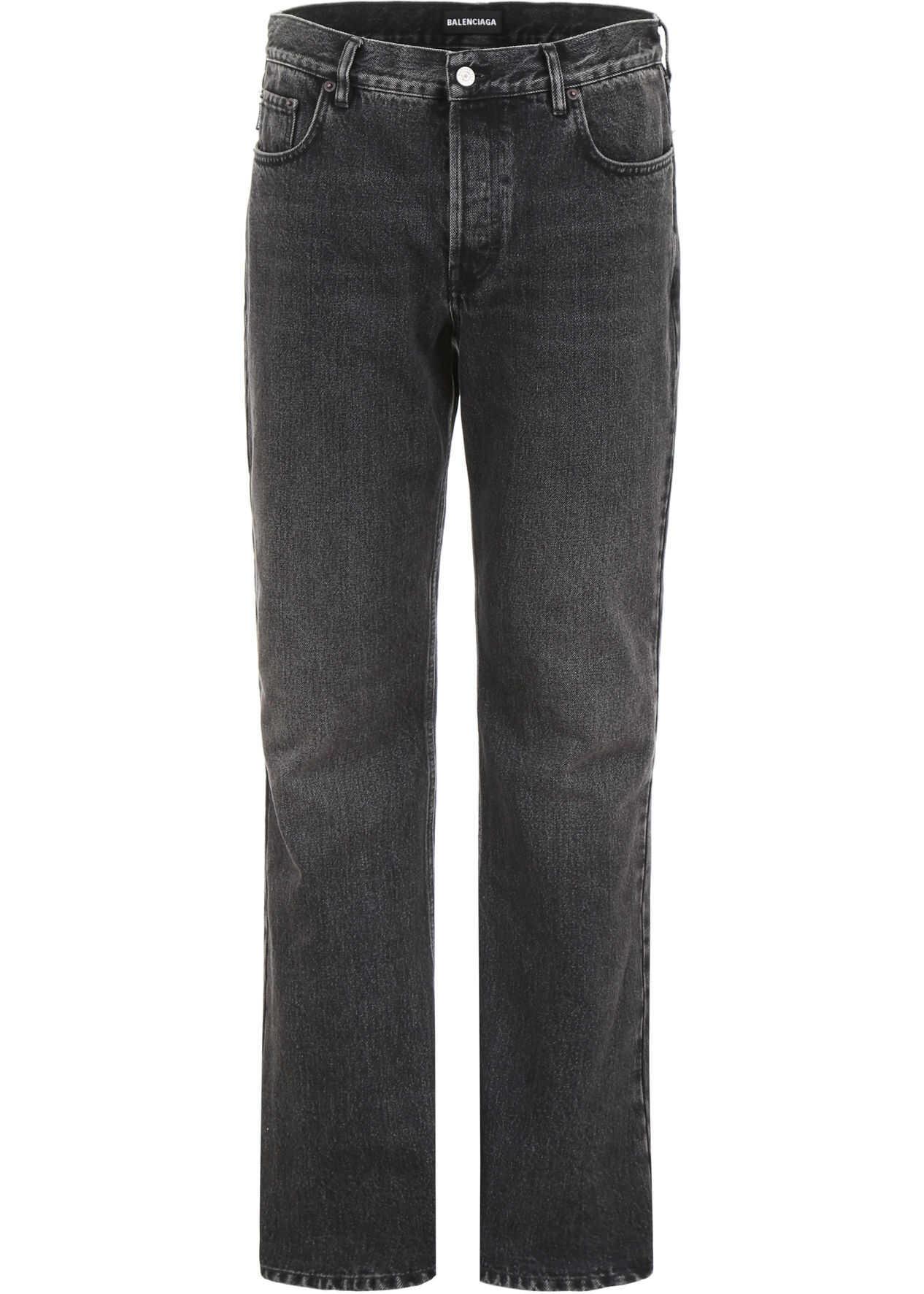 Balenciaga Boot Cut Jeans VINTAGE BLACK