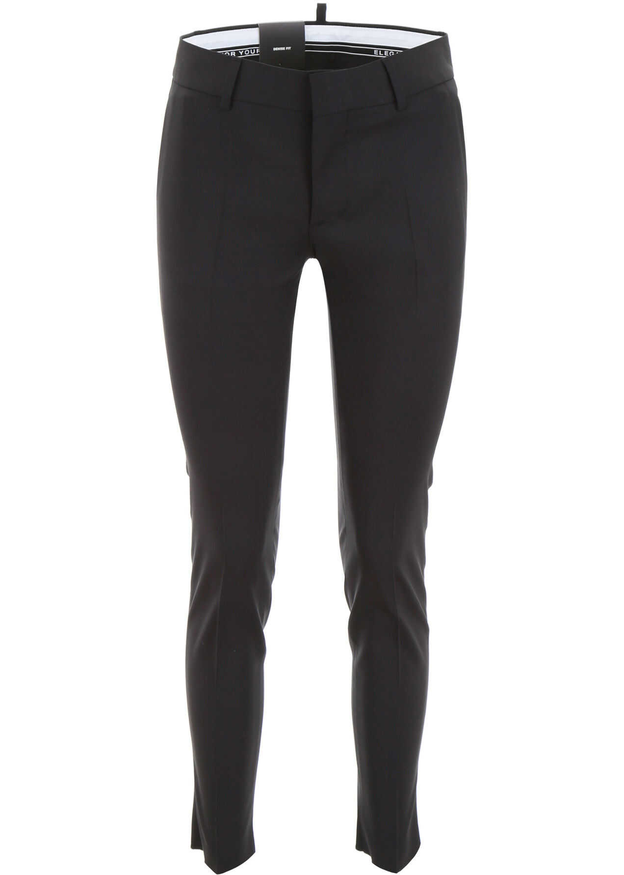 DSQUARED2 Wool Trousers BLACK