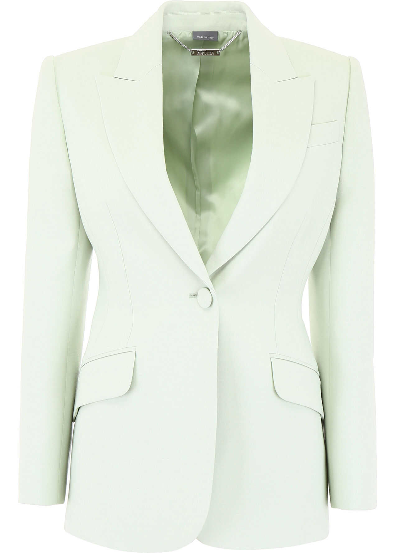 Alexander McQueen Single-Breasted Jacket MINT
