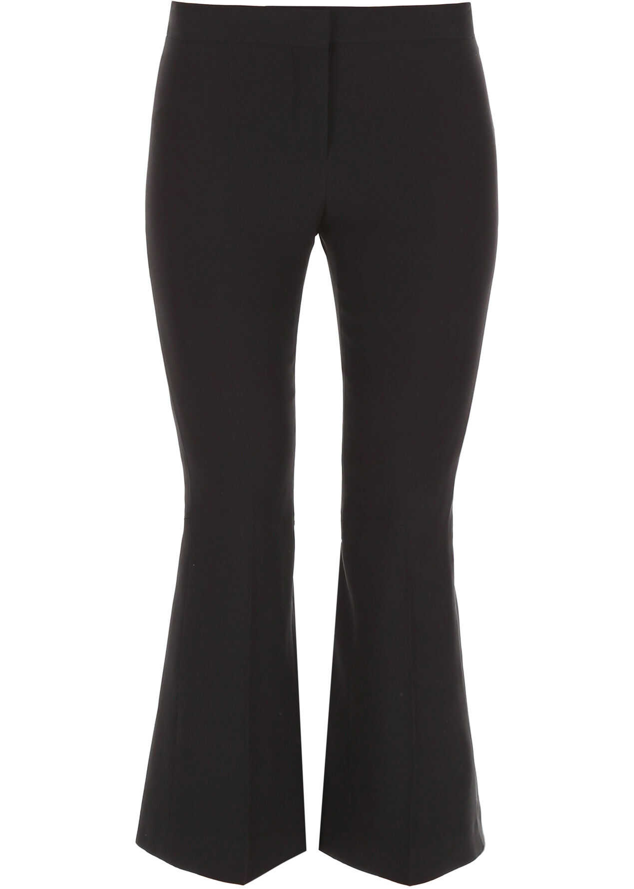 Alexander McQueen Trousers With Back Laces BLACK
