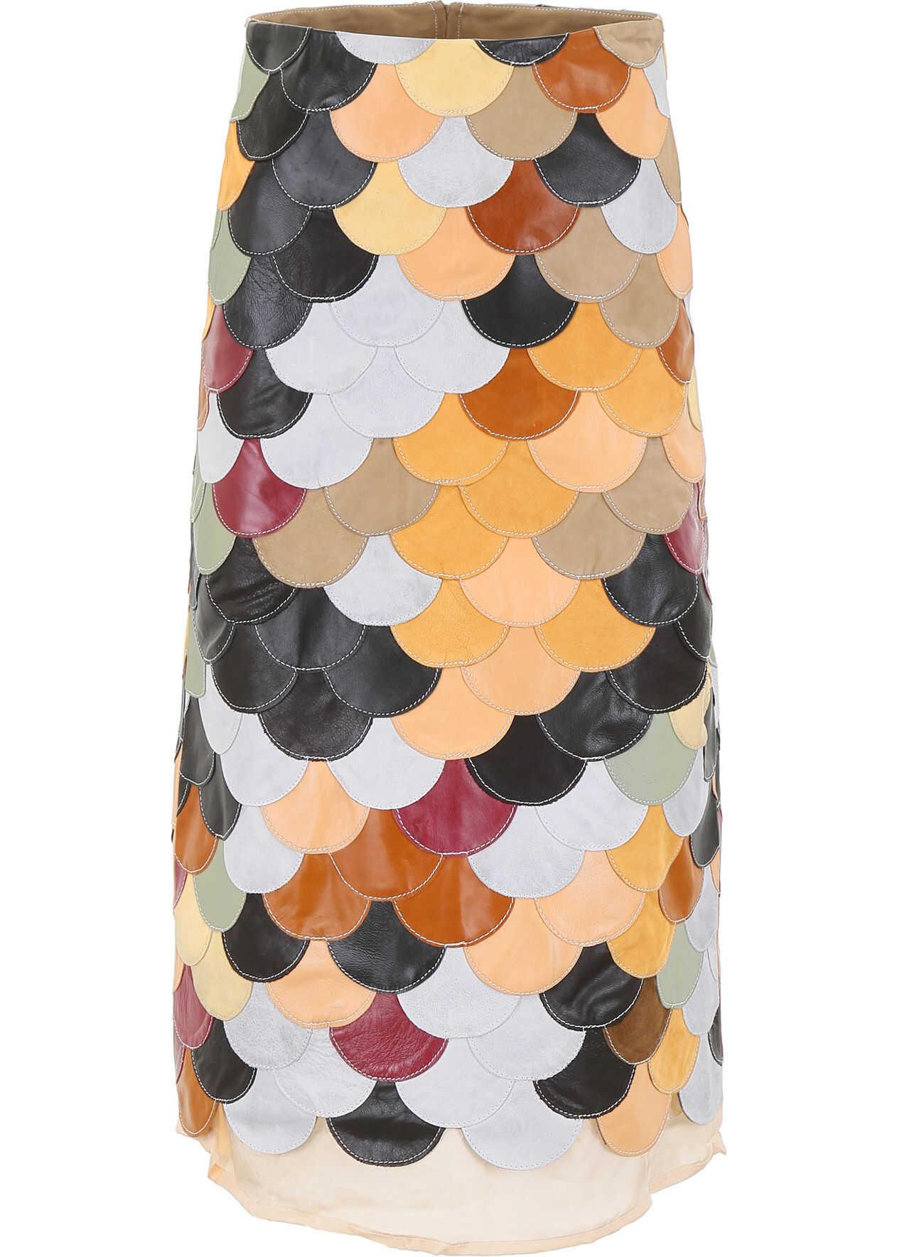 Golden Goose Acantha Skirt MULTICOLOR PETALS