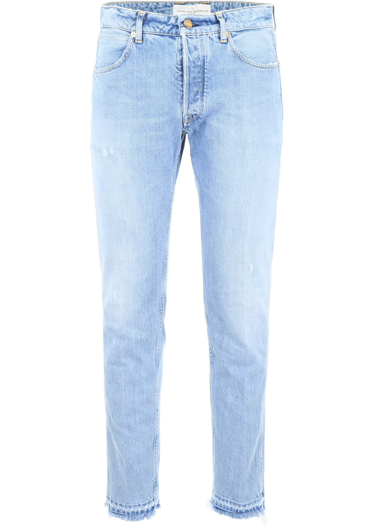 Golden Goose Jeans With Five Pockets LIGHT BLUE