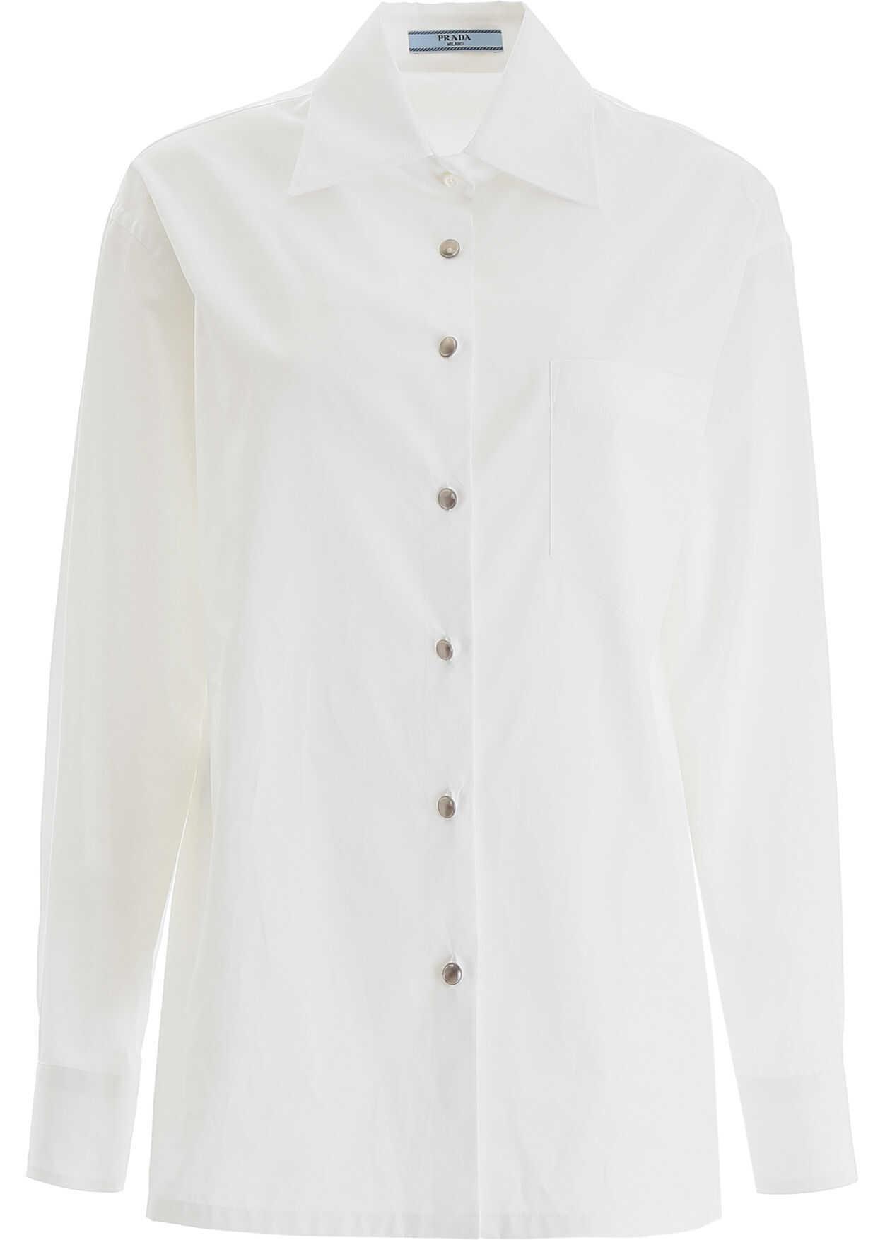 Prada Cotton Shirt BIANCO