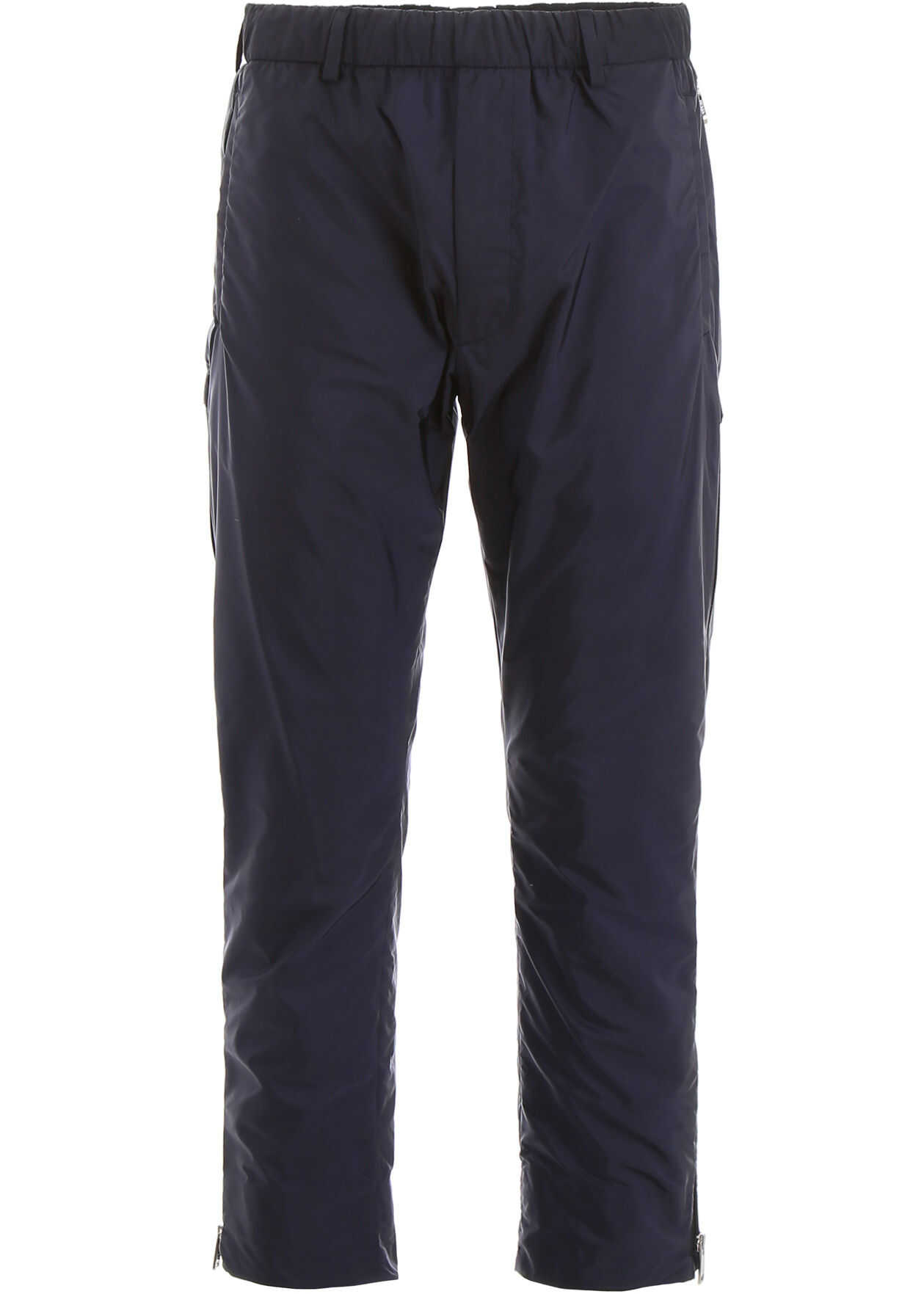 Prada Nylon Trousers NAVY
