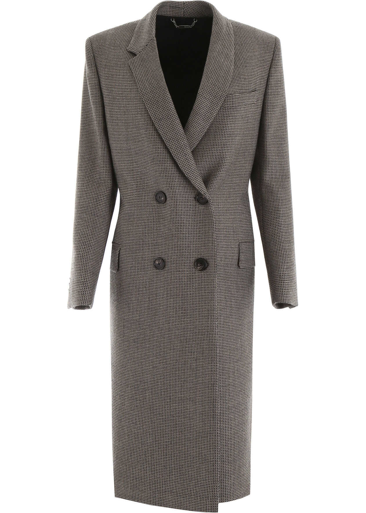 Fendi Long Coat With Scarf Belt BROWN BEIGE
