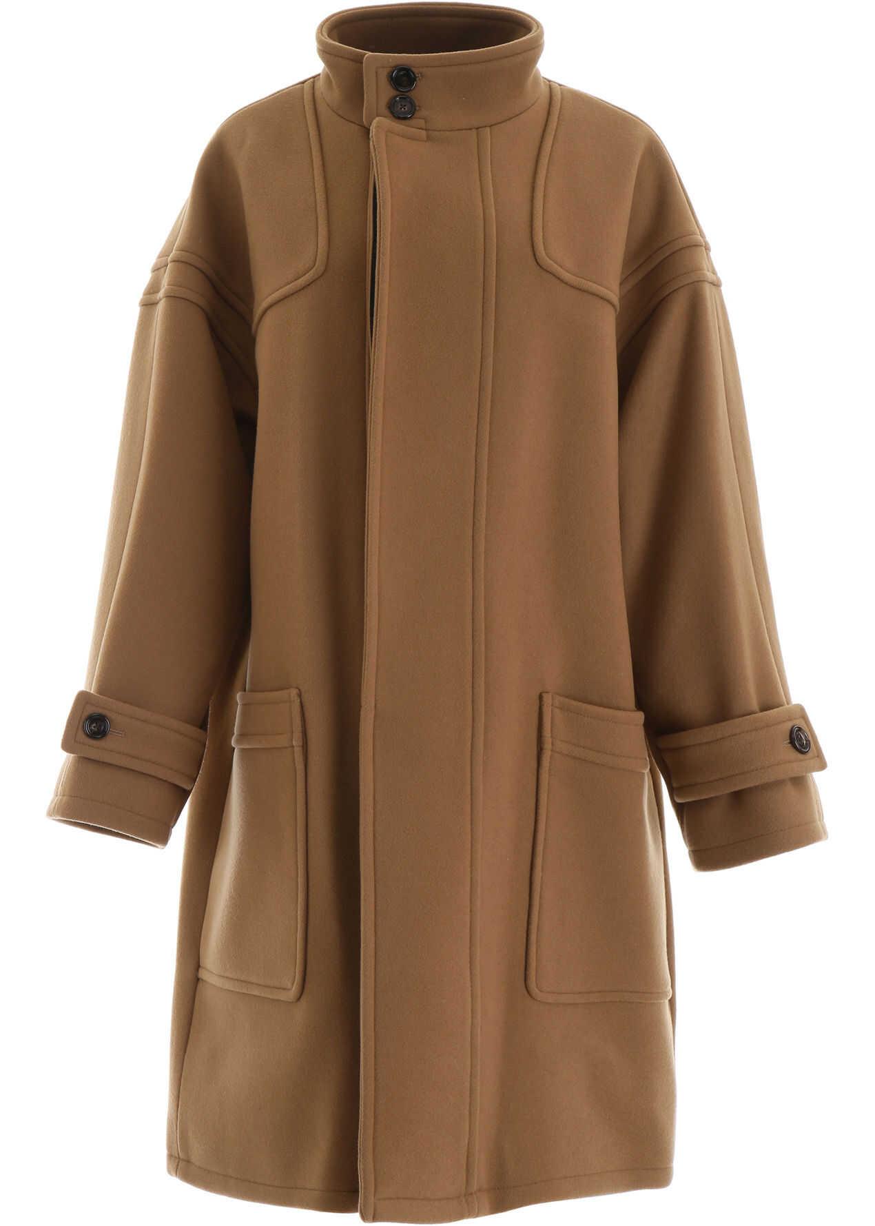 Céline Wool Coat CAMEL