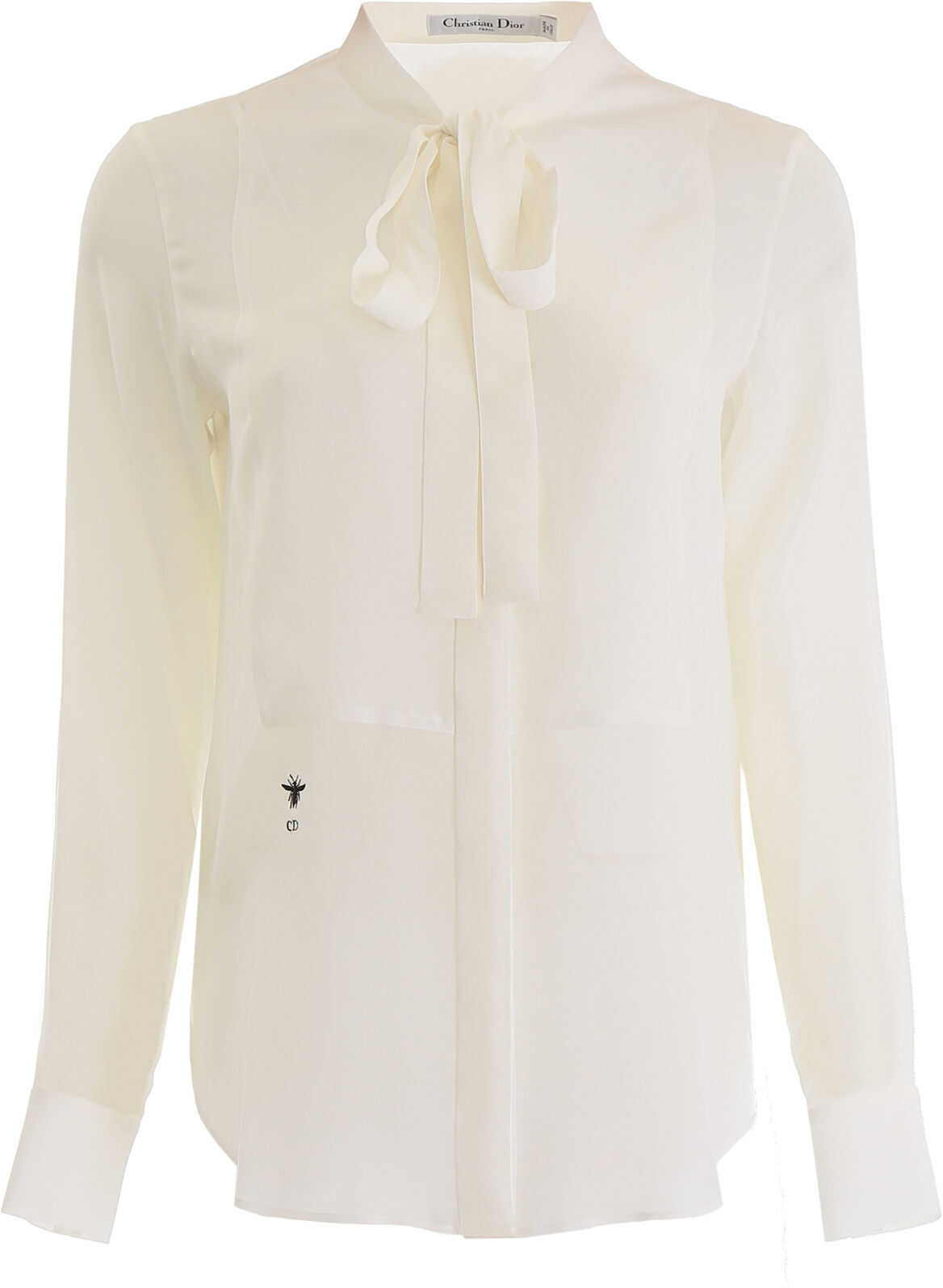 Dior Shirt With Bow ECRU