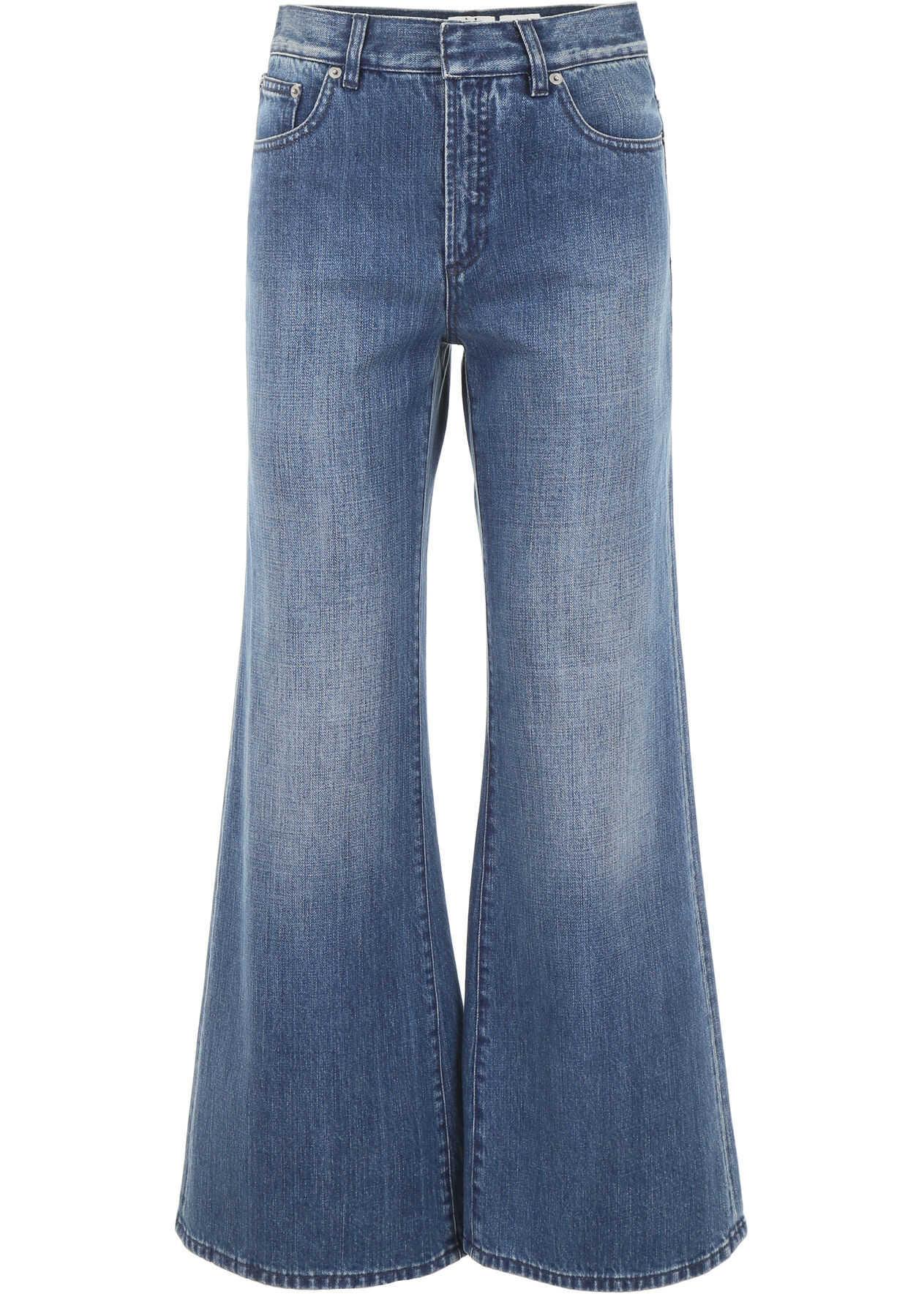 Dior Flare Jeans BLEU