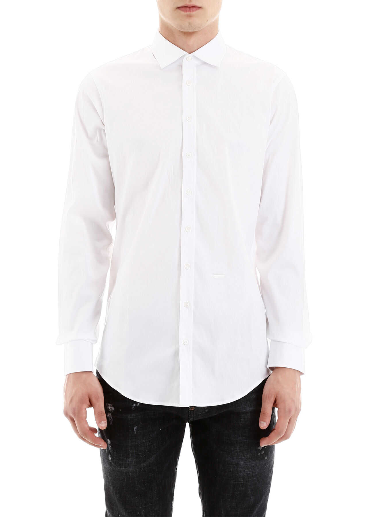 DSQUARED2 Basic Shirt WHITE
