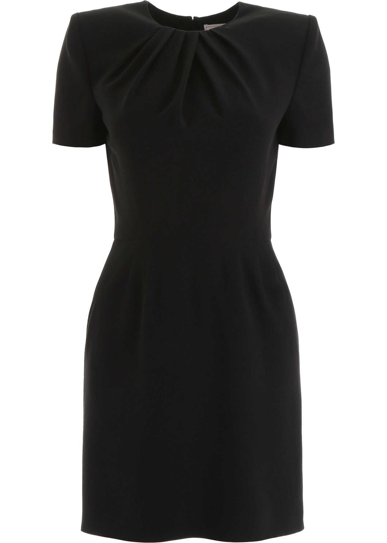 Alexander McQueen Cady Mini Dress BLACK