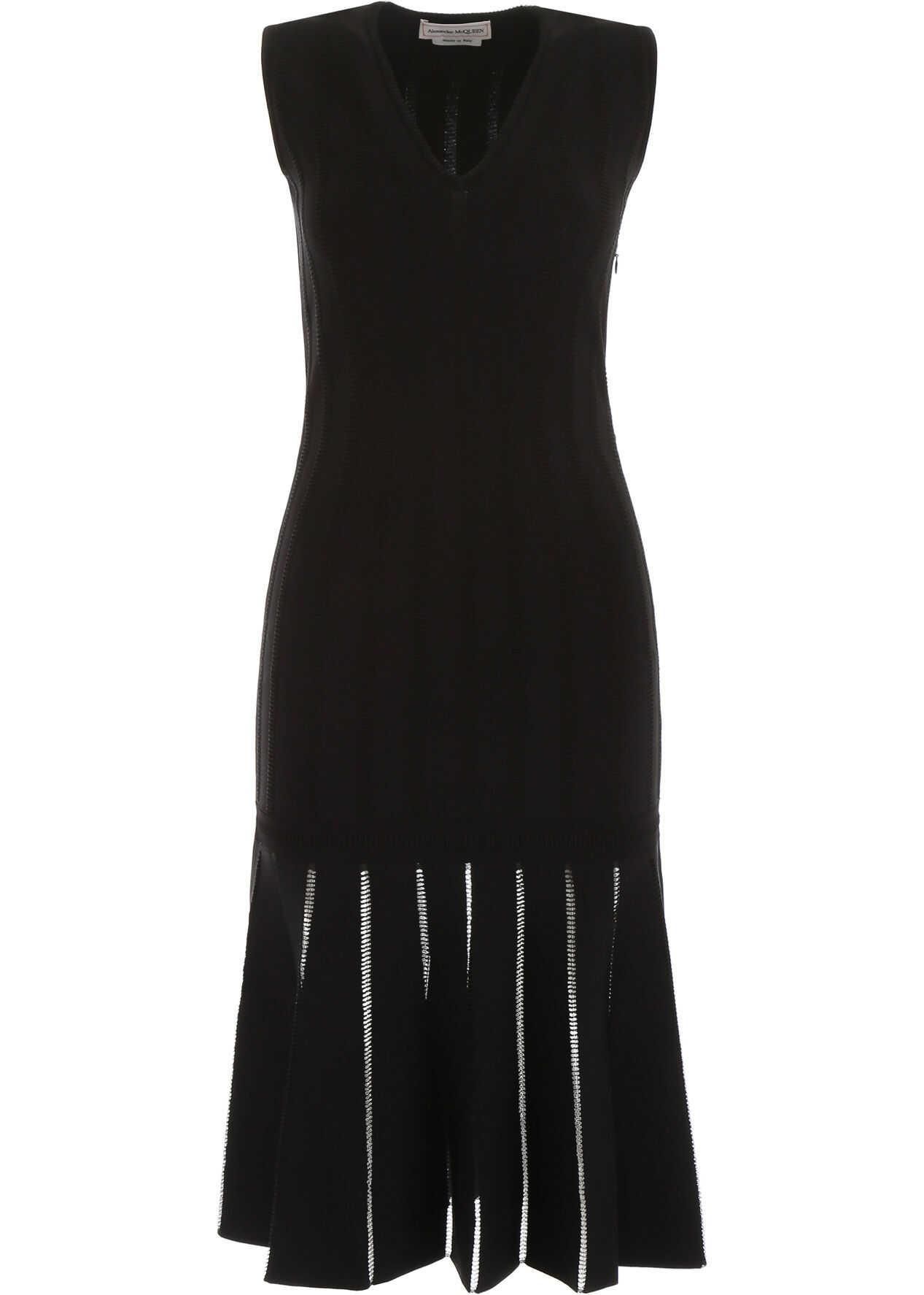 Alexander McQueen Knit Dress BLACK