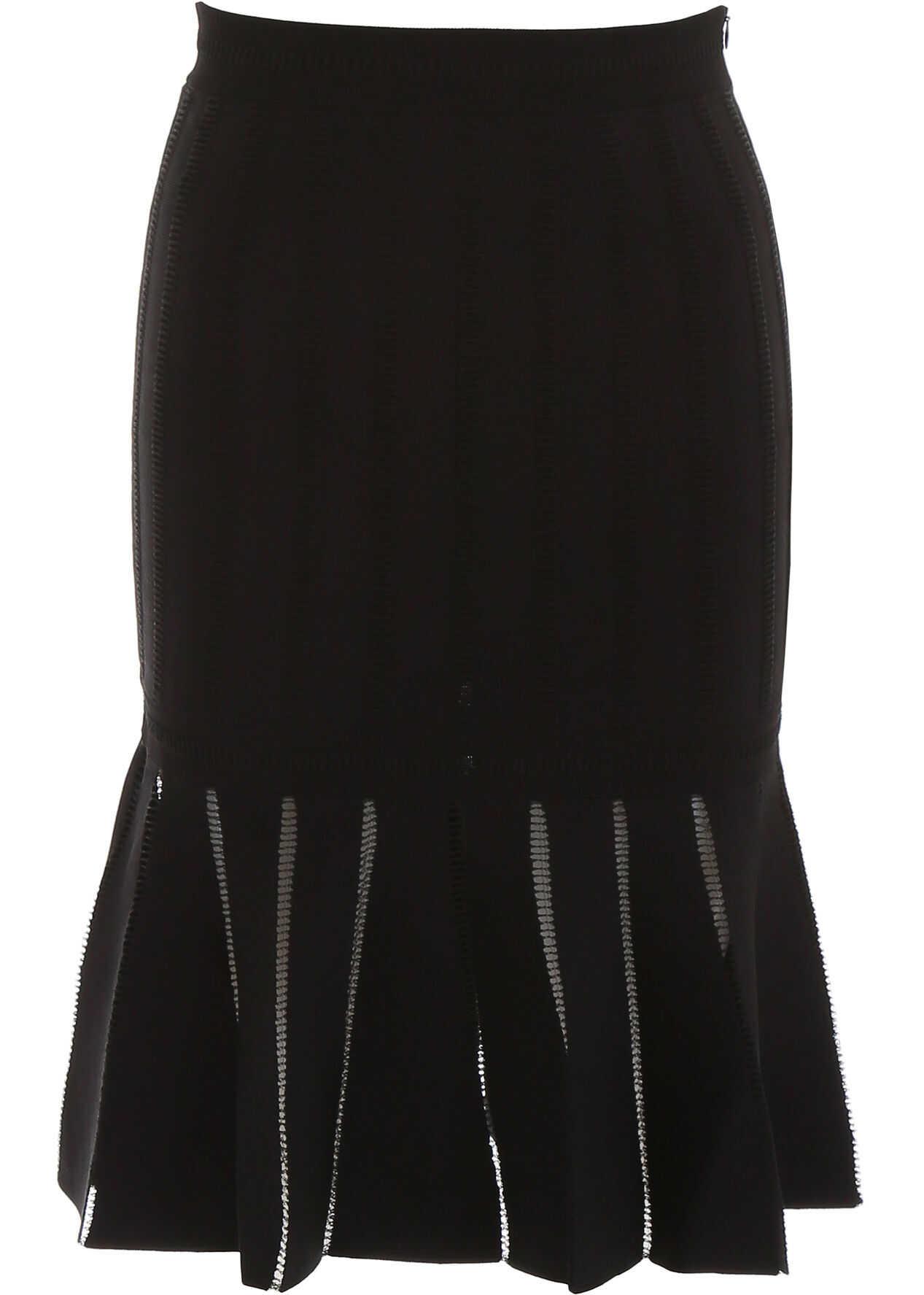 Alexander McQueen Knit Skirt BLACK