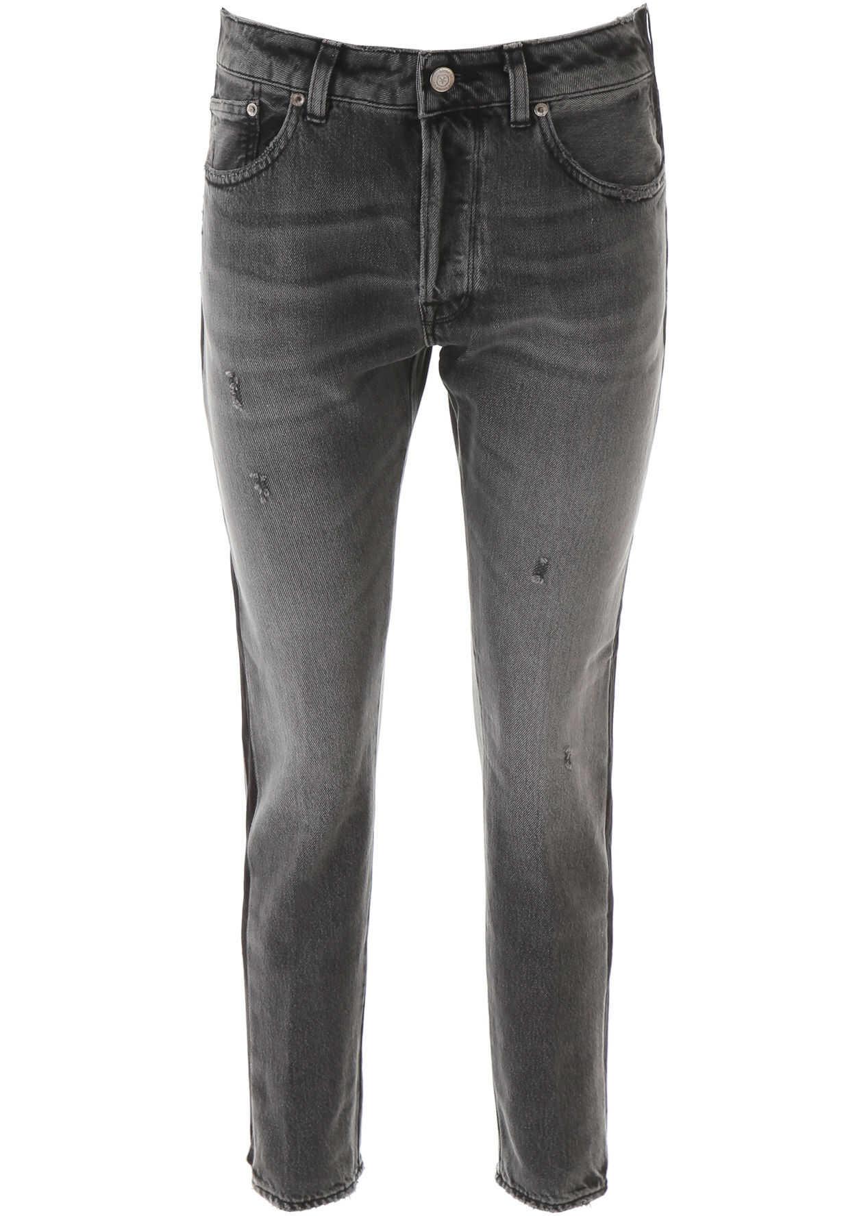 Golden Goose Jolly Jeans GREY BLACK SIDE