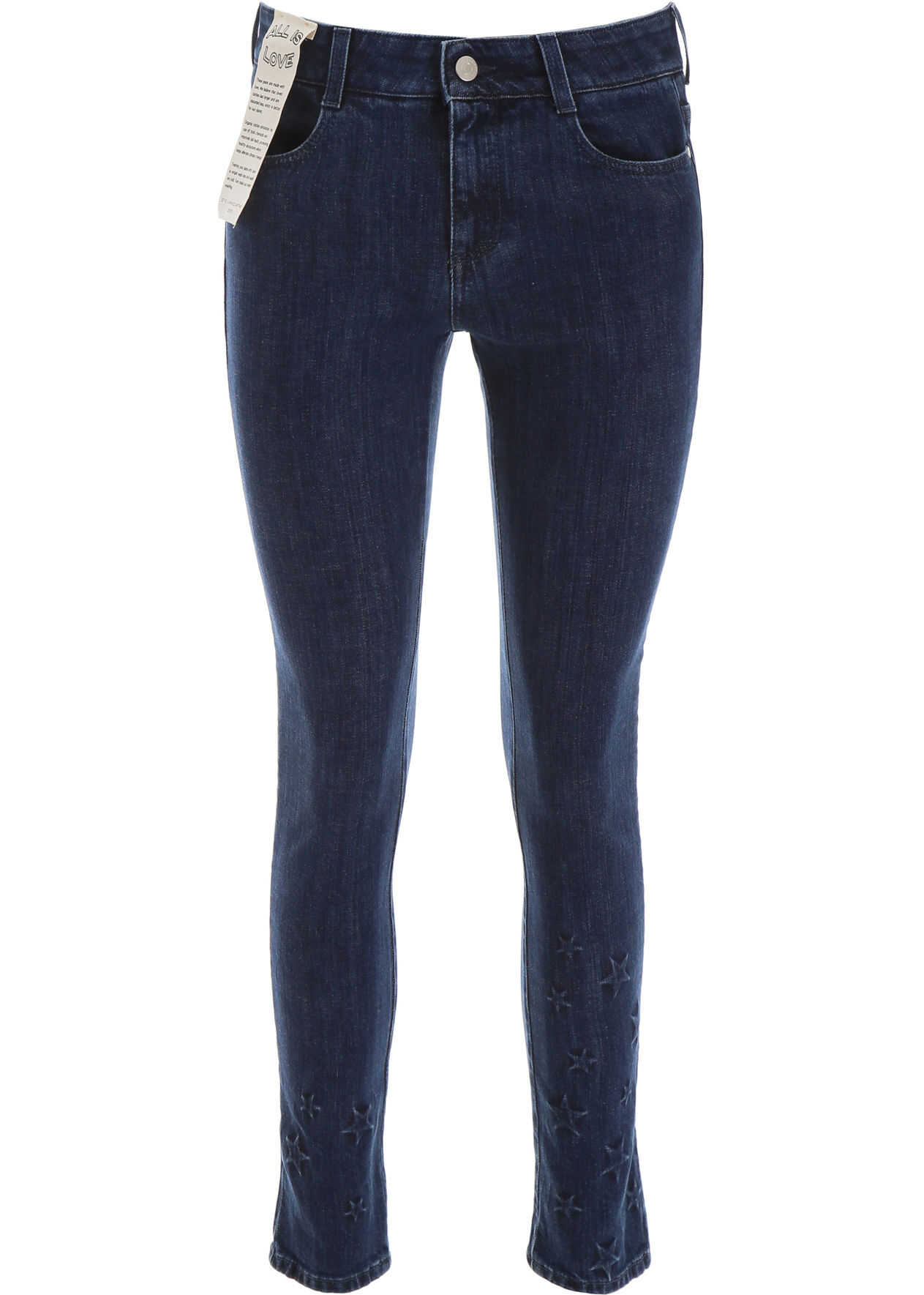 adidas by Stella McCartney Stars Skinny Jeans RETRO BLUE