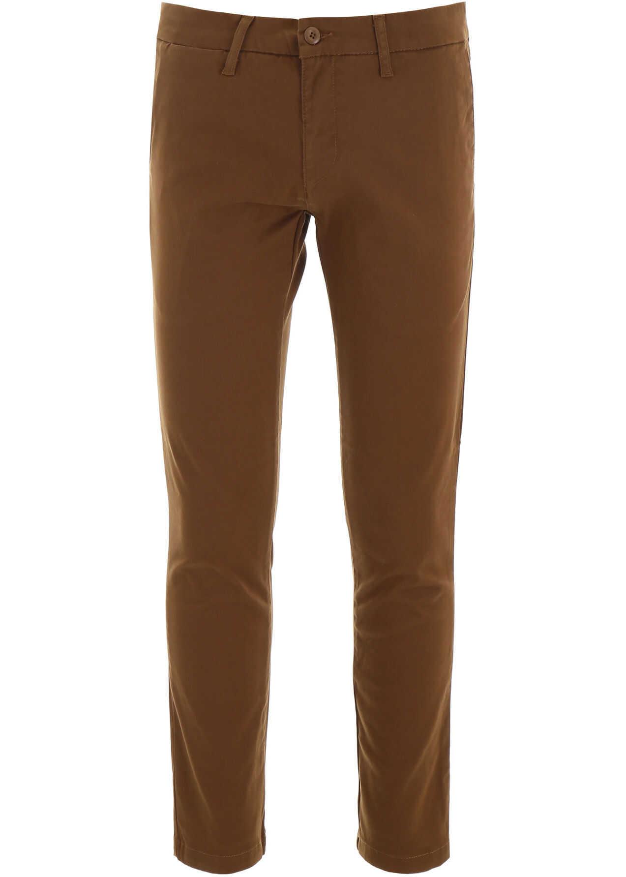 Carhartt Chino Trousers HAMILTON BROWN