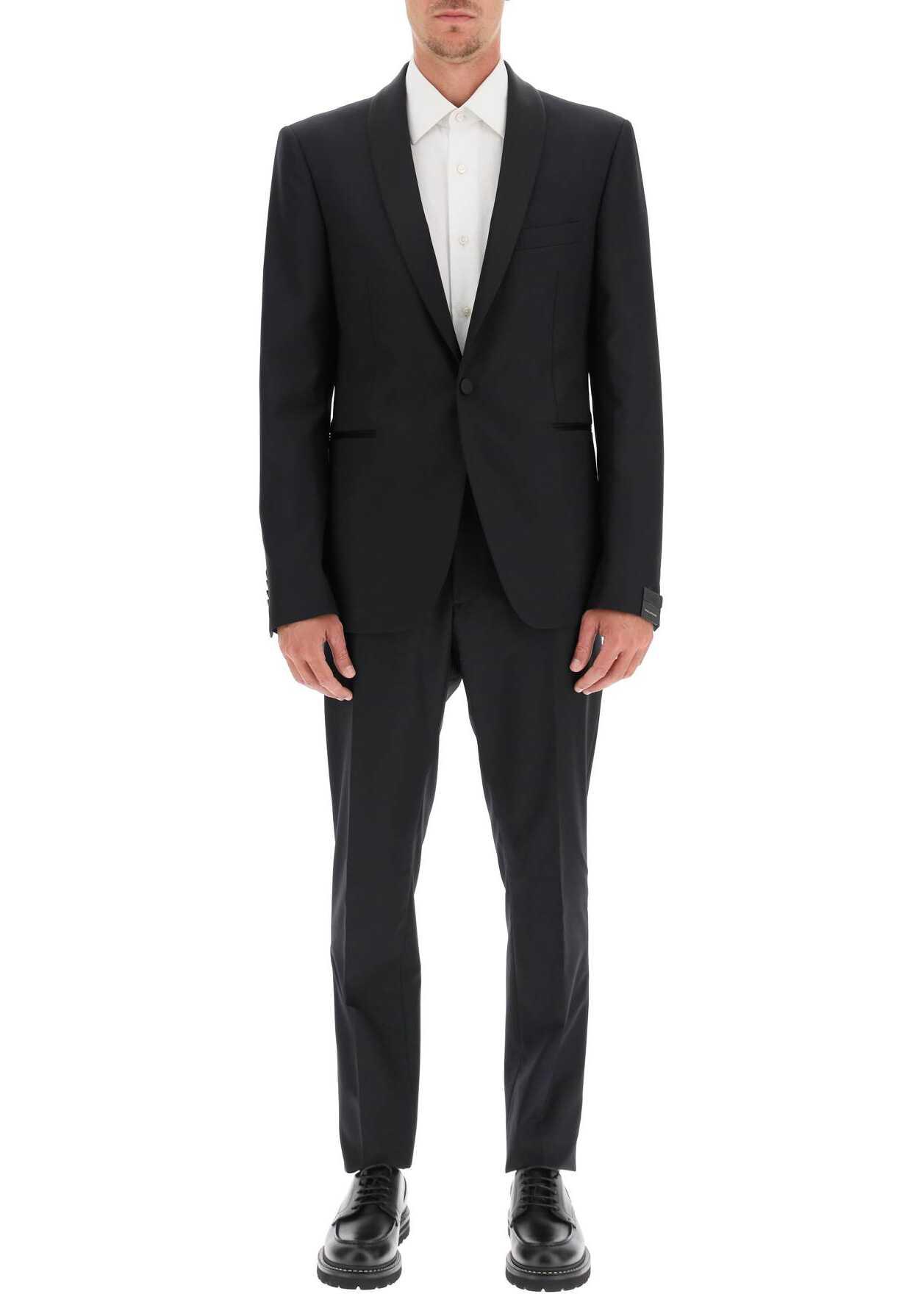 Tagliatore Tuxedo Suit BLACK imagine
