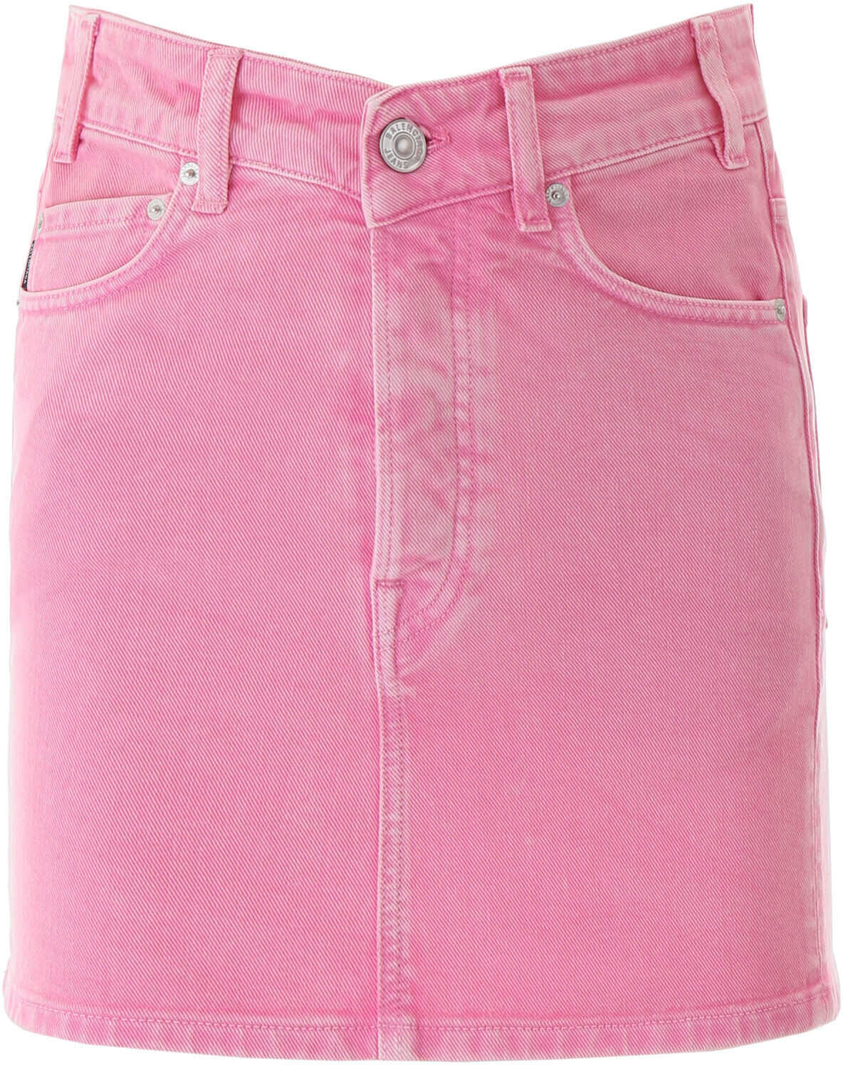 Balenciaga Denim Mini Skirt VINTAGE PINK