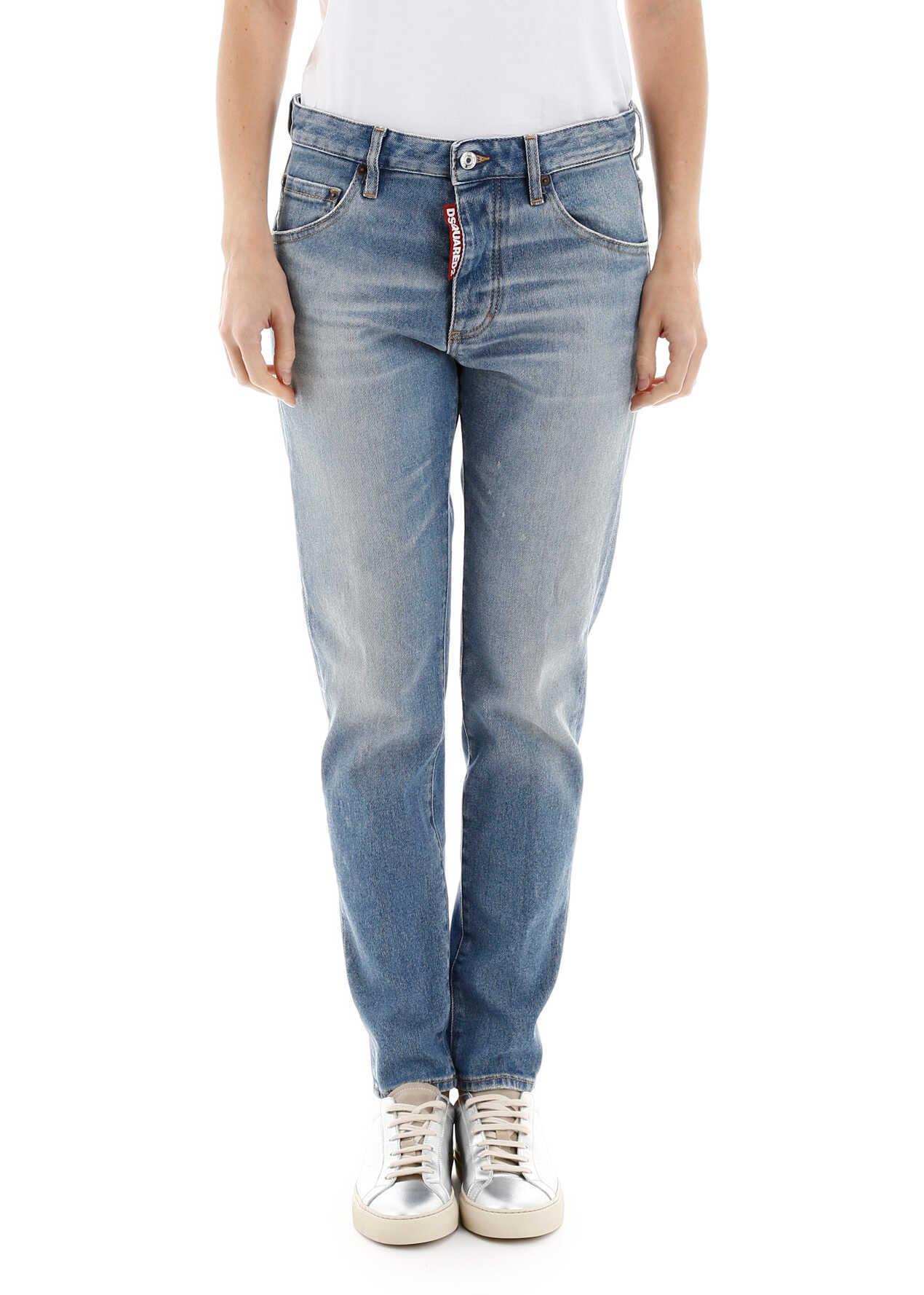 DSQUARED2 Dan Skinny Jeans BLUE