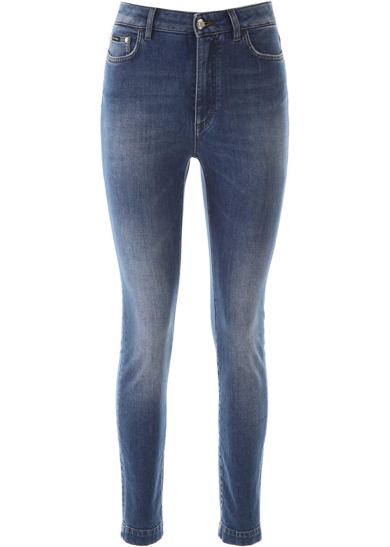 Dolce & Gabbana Audrey Fit Jeans BLU SCURISSIMO 5