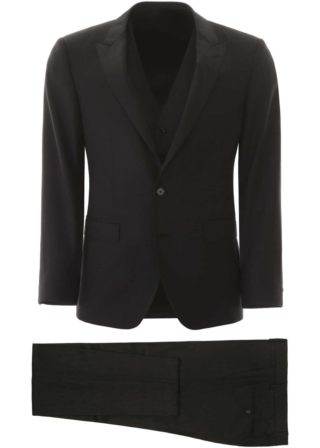 Dolce & Gabbana Dg Jacquard Martini Suit NERO imagine