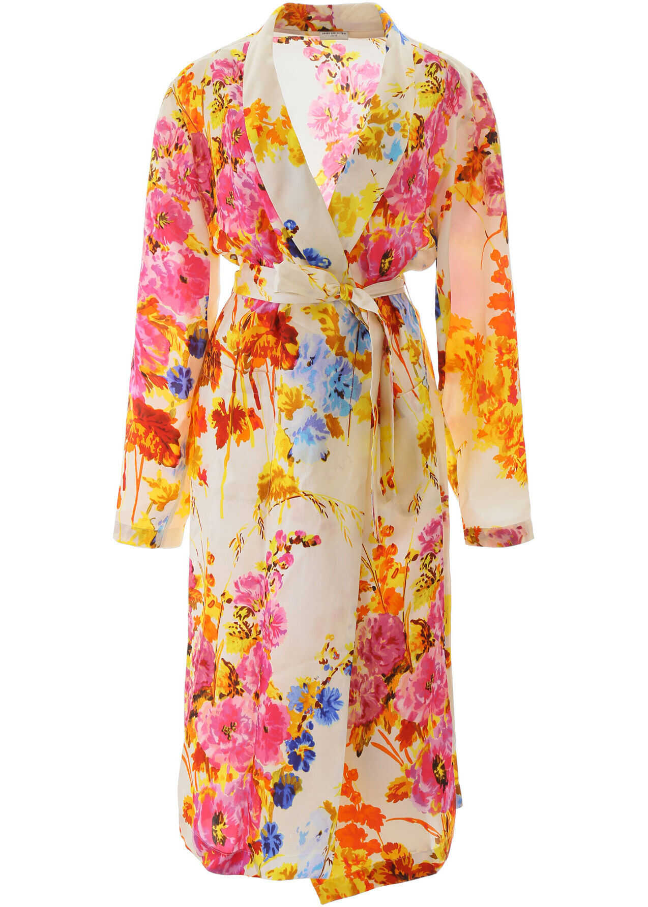Dries Van Noten Charly Floral Dress ECRU