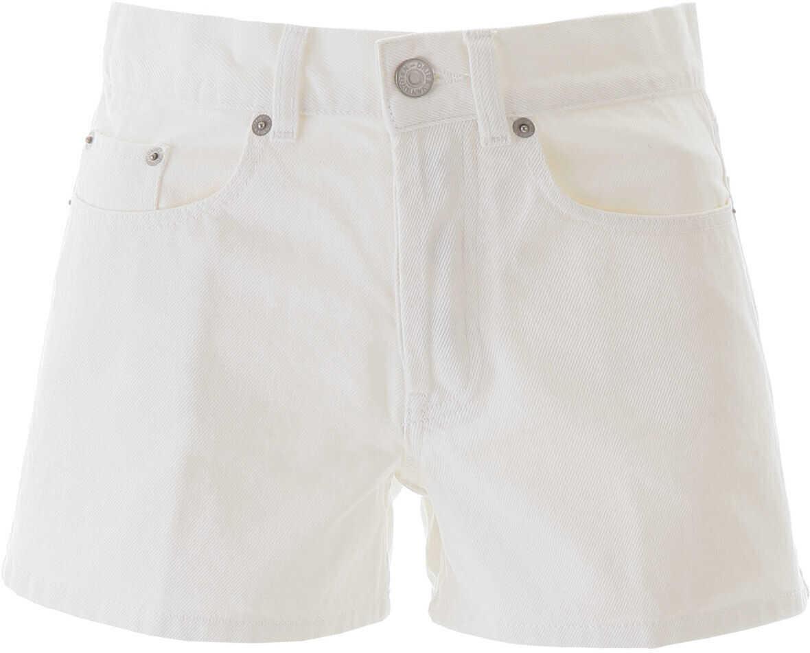 Dries Van Noten Denim Shorts WHITE