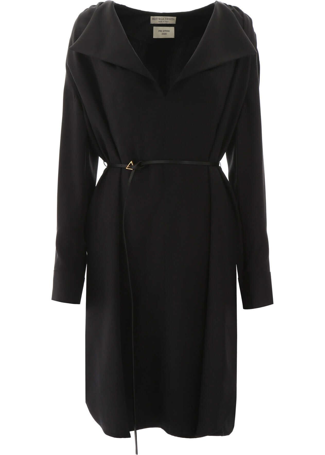Bottega Veneta Tunic Dress NERO