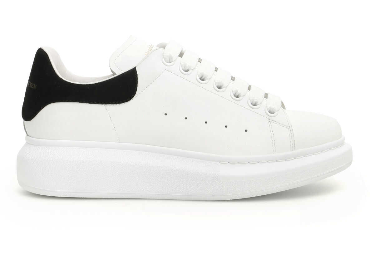 Alexander McQueen Oversized Sneakers WHITE BLACK