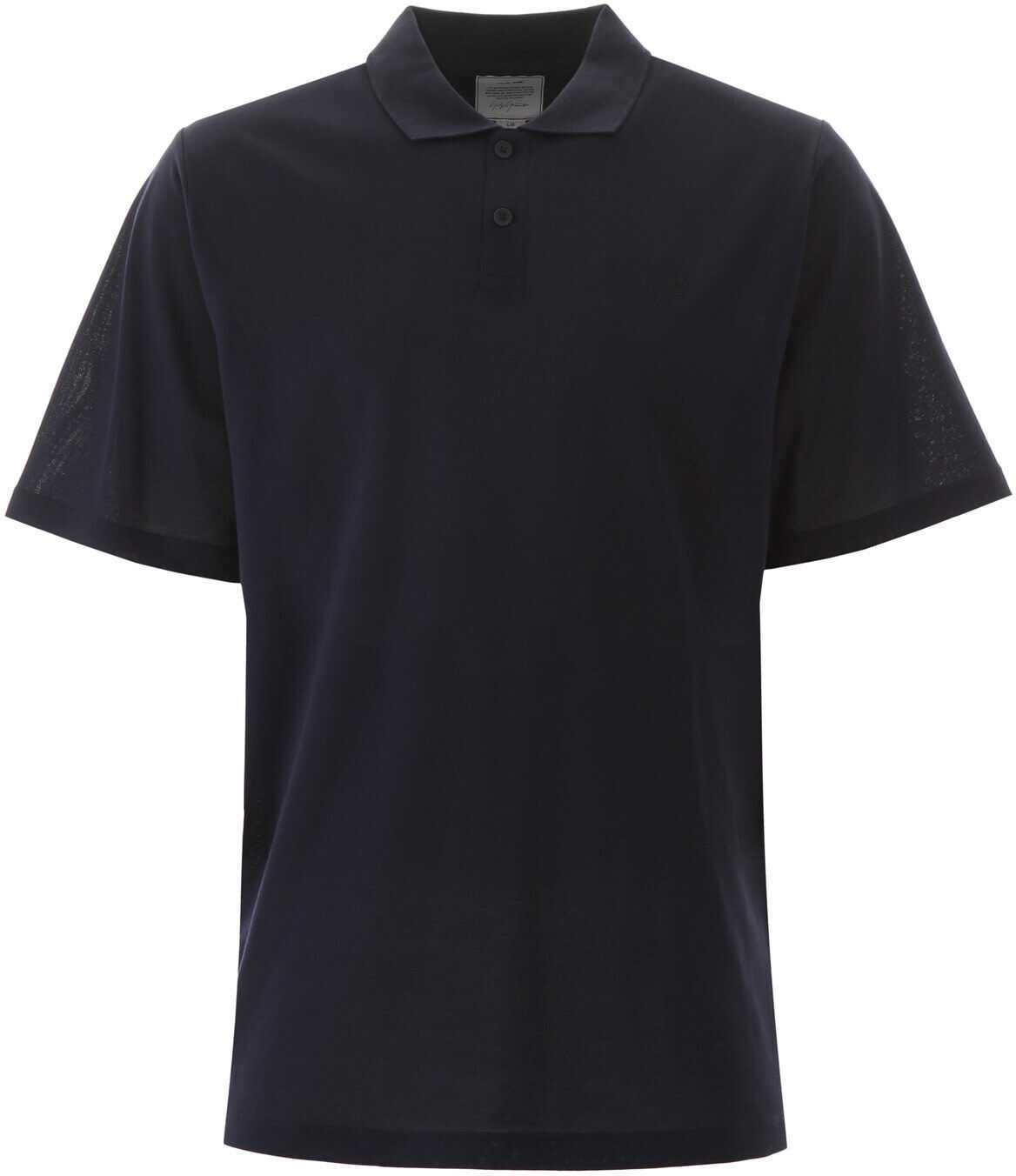 Y-3 Polo Shirt With Rubber Logo Patch LEGEND INK