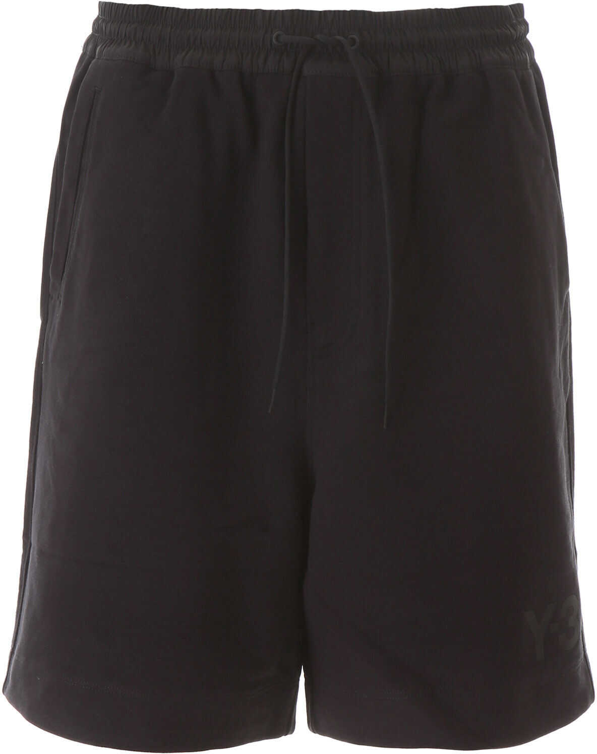 Y-3 Short Jogger Pants With Logo BLACK