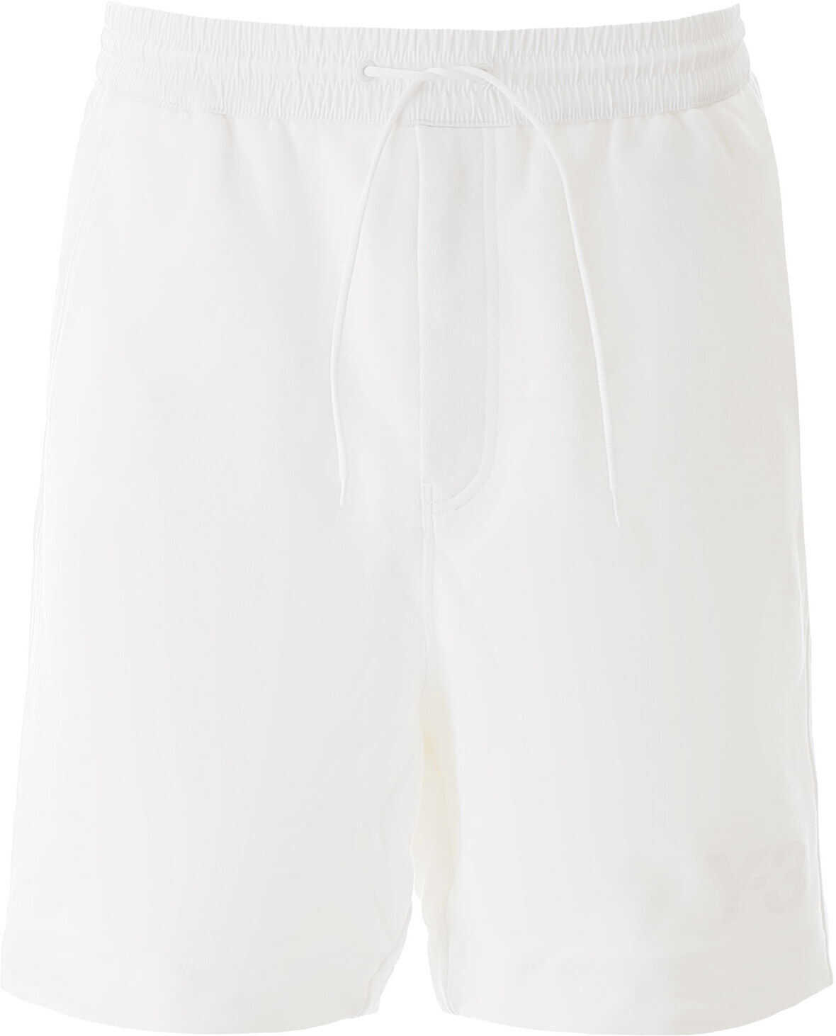 Y-3 Short Jogger Pants With Logo CORE WHITE