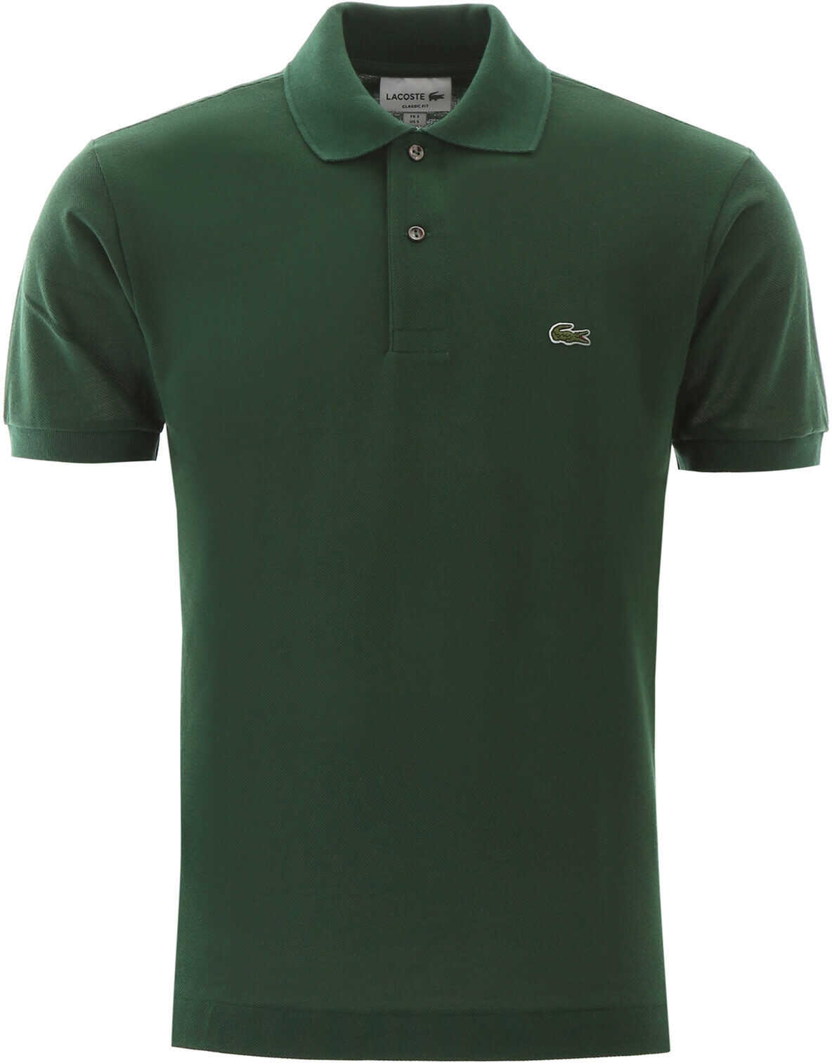 Lacoste Polo Shirt With Embroidered Logo Patch VERT