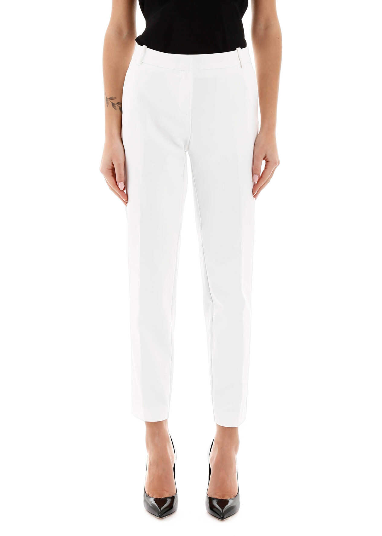 Pinko Casual Trousers WHITE