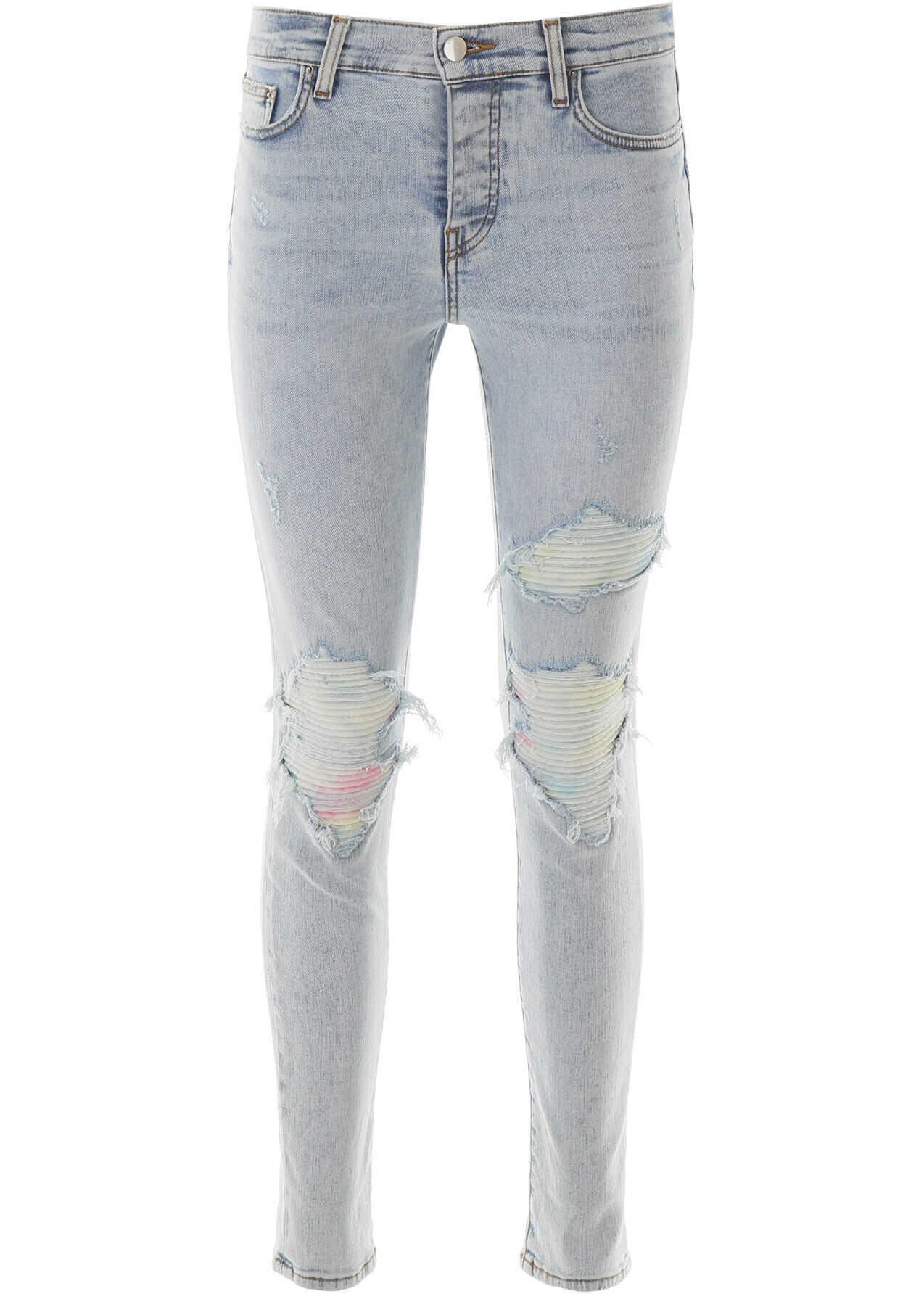 AMIRI Mx1 Tie-Dye Jeans SKY INDIGO